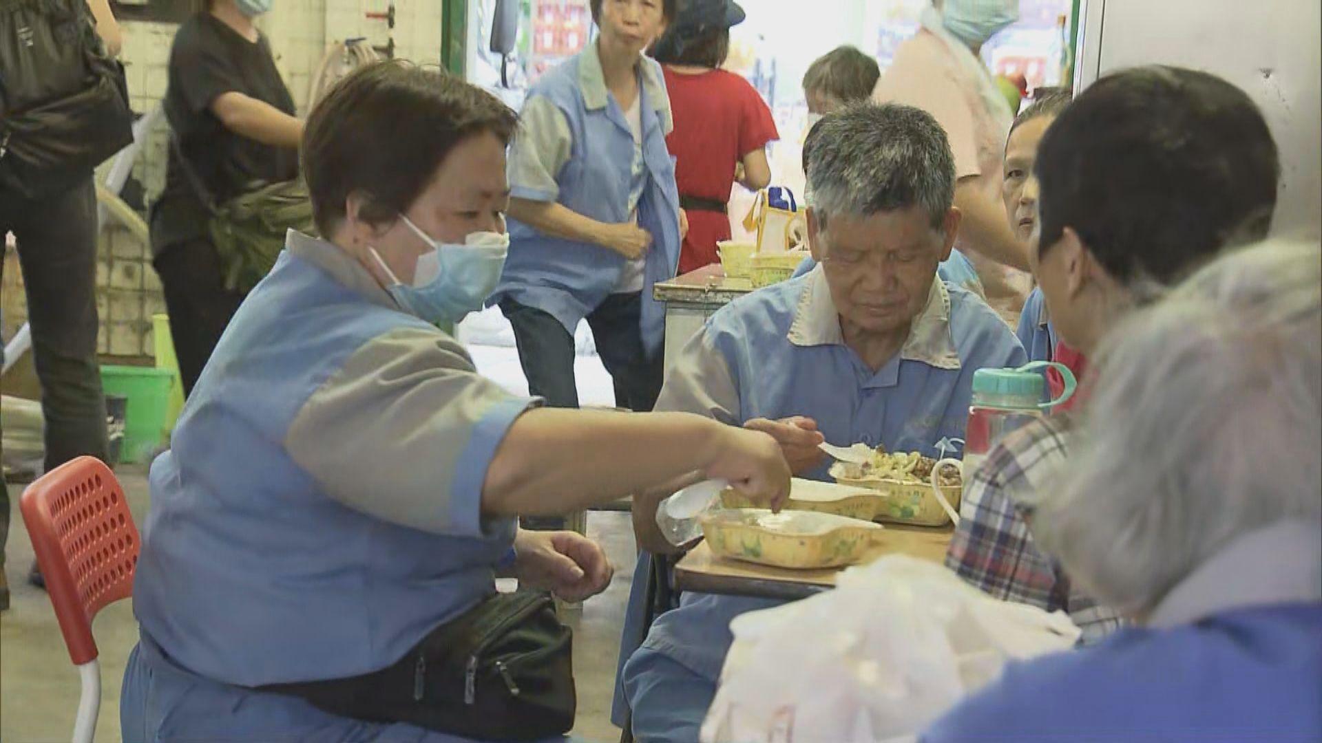 清潔工人用膳環境惡劣 關注團體希望政府改善