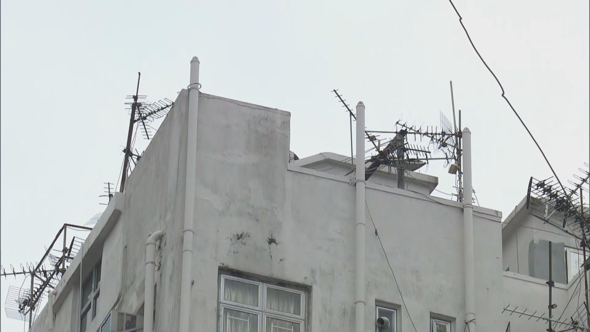糞渠排氣口常見於天台 專家建議減少逗留天台活動