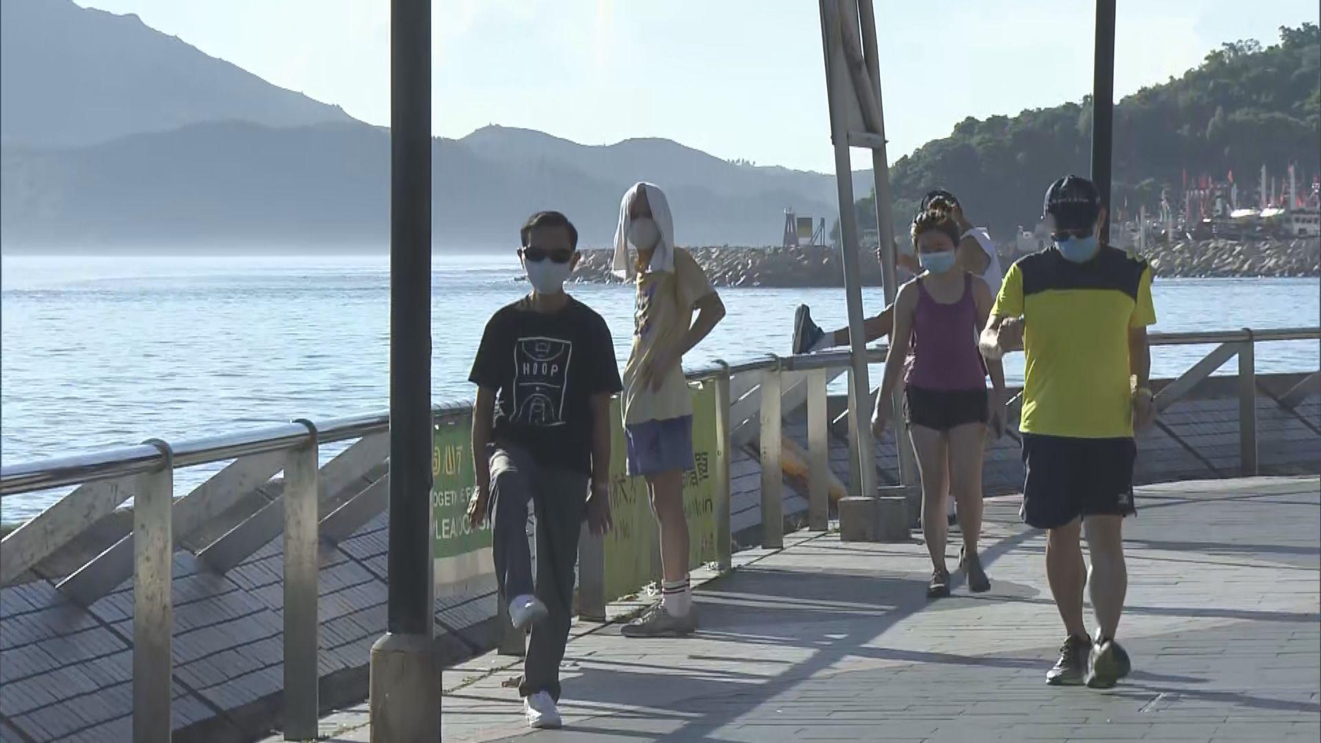 室外強制戴口罩規例生效 有市民表示理解新措施