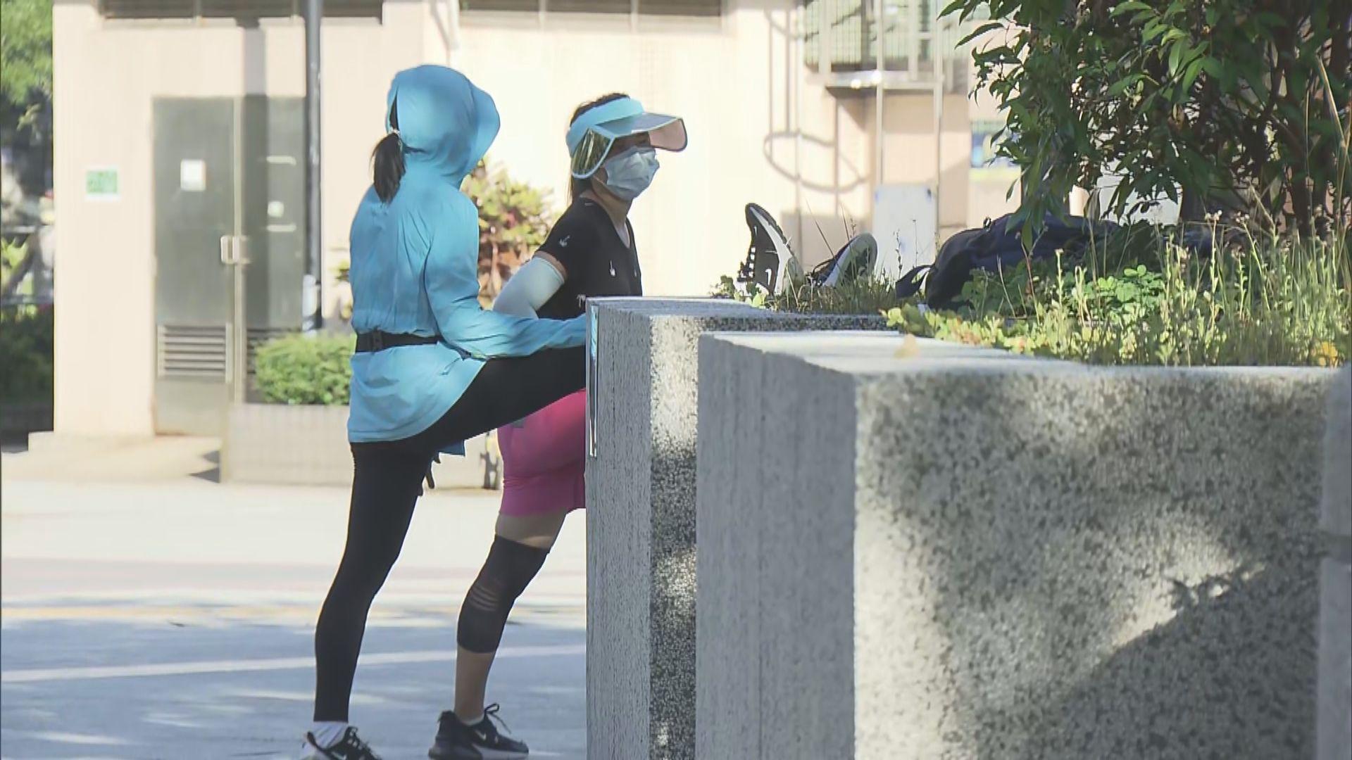 室外強制戴口罩規例生效