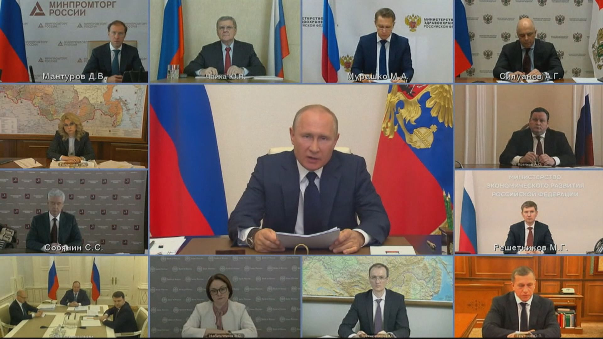 俄羅斯連續九日逾萬人確診 累計宗數超越意大利