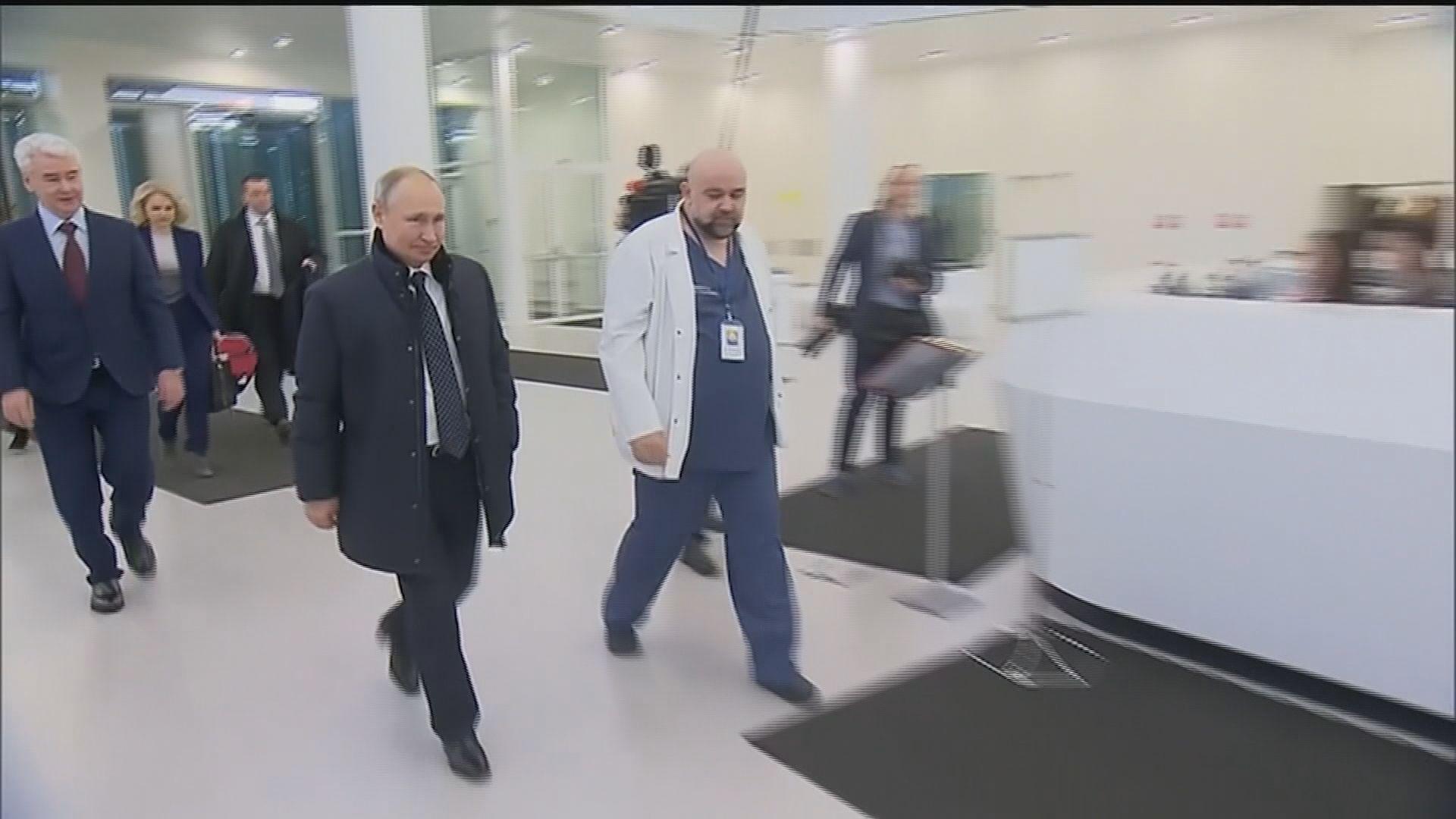 俄羅斯確診宗數破千 總統普京預測兩三個月內戰勝疫情