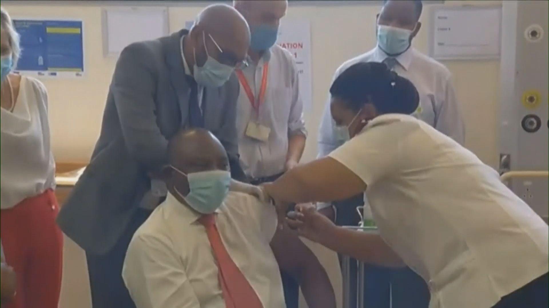 南非總統接種強生新冠疫苗