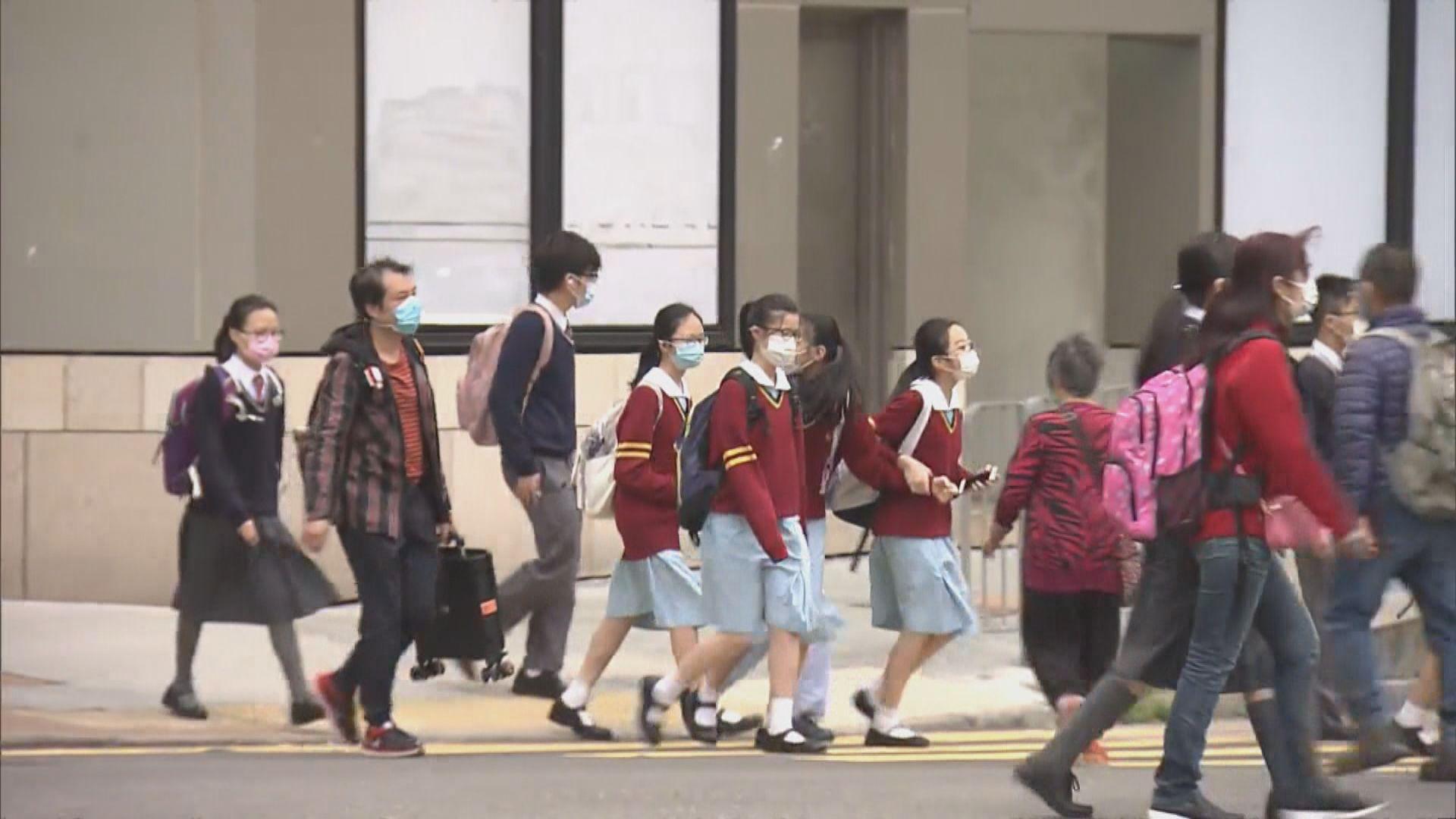 中小學周三停課 家長學生憂影響進度