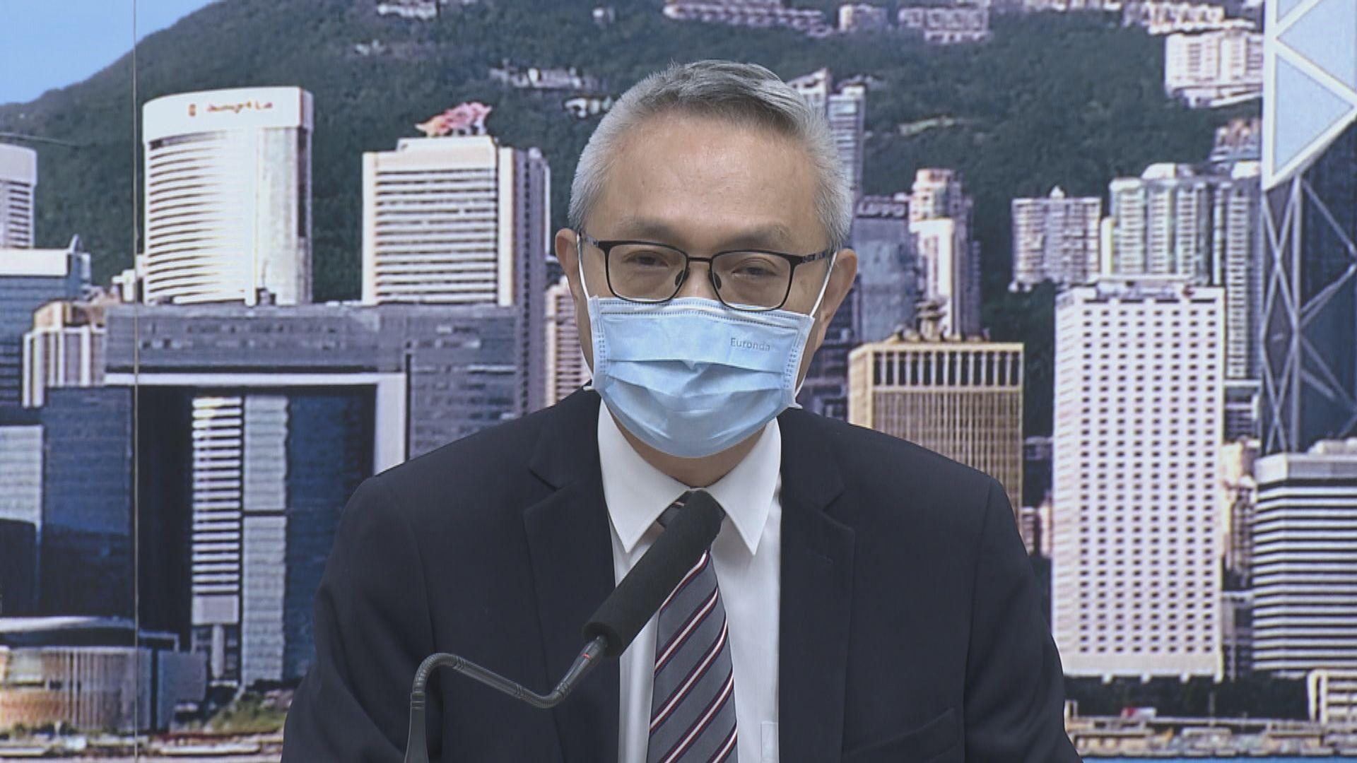 徐德義:政府一直有聽專家意見
