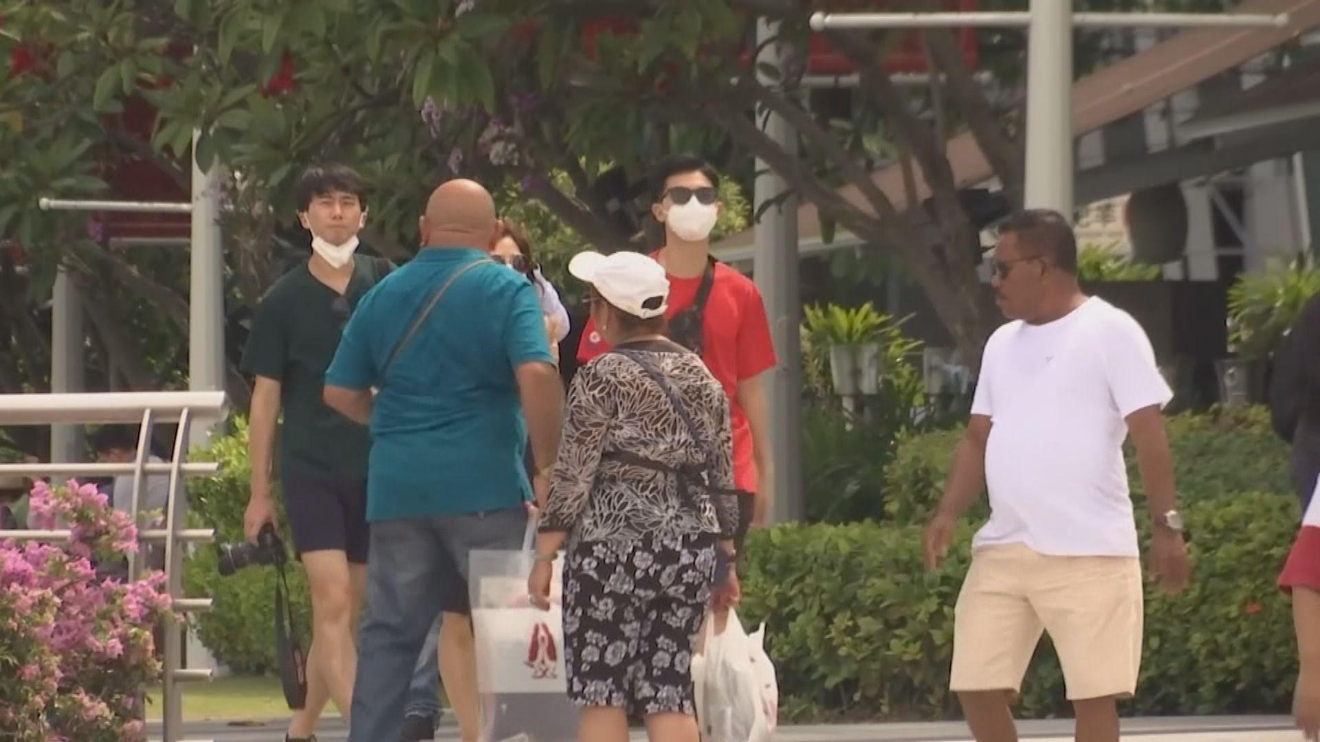新加坡增13宗病例 累計130宗