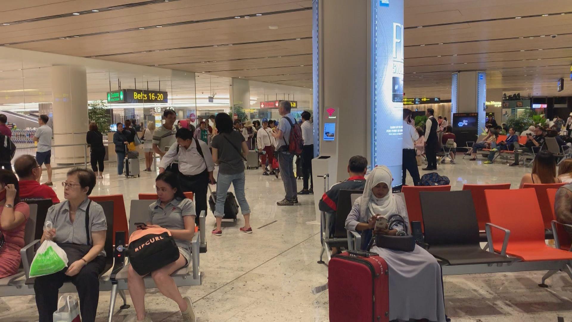 新加坡樟宜機場兩員工染新冠病毒