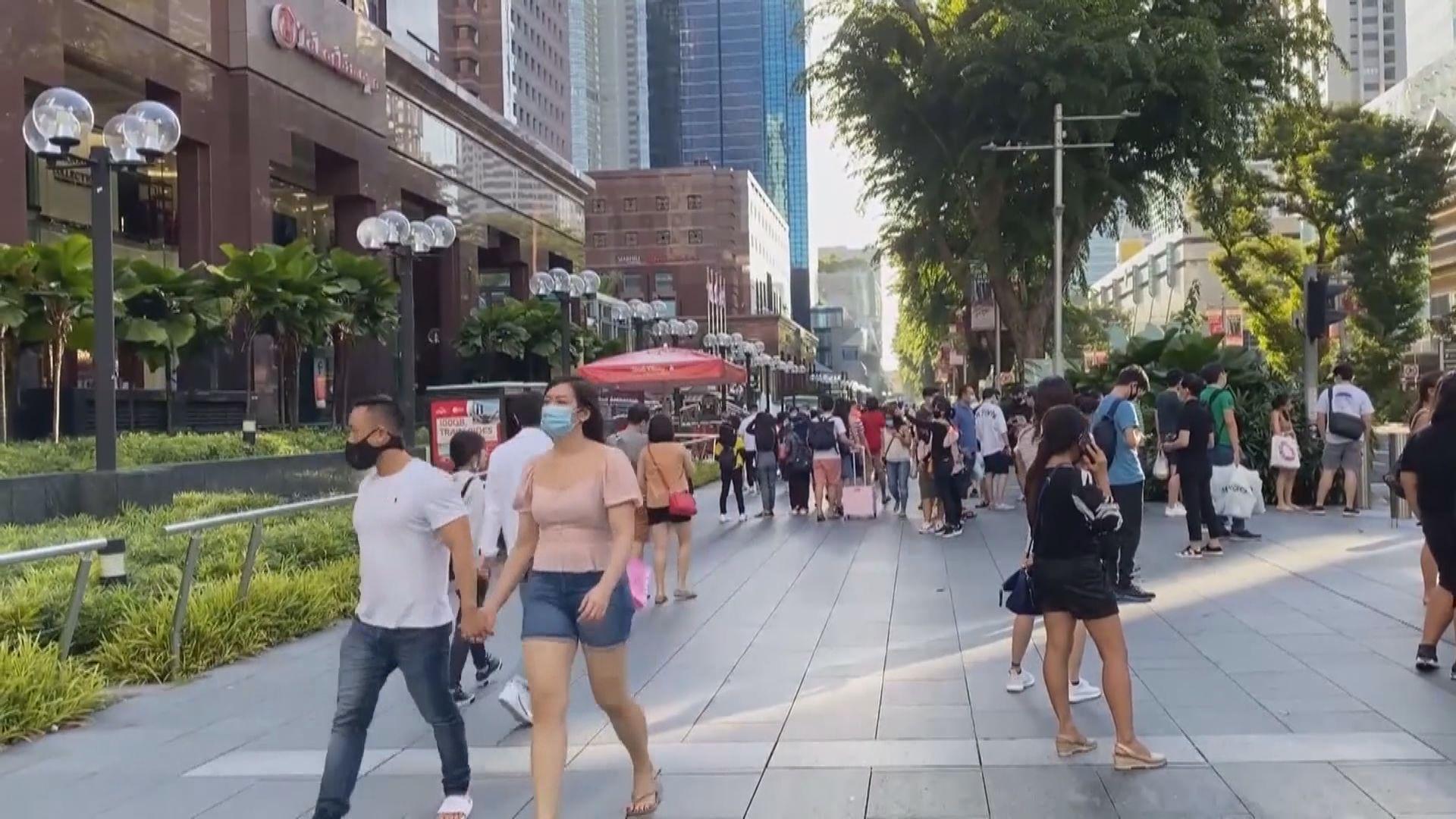 新加坡增910宗確診個案 去年5月以來單日最多
