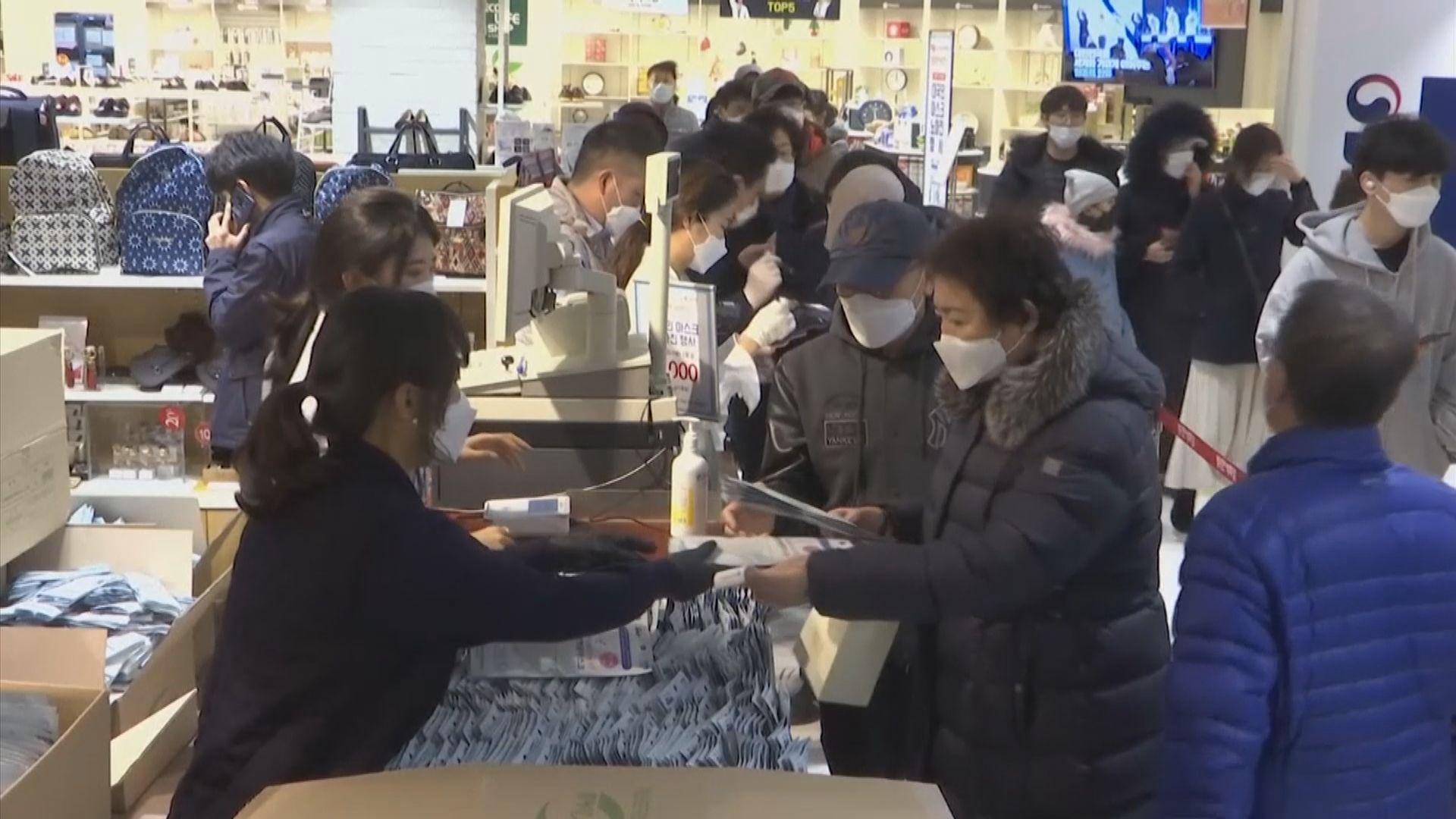南韓實行口罩限購措施 每人限買五個
