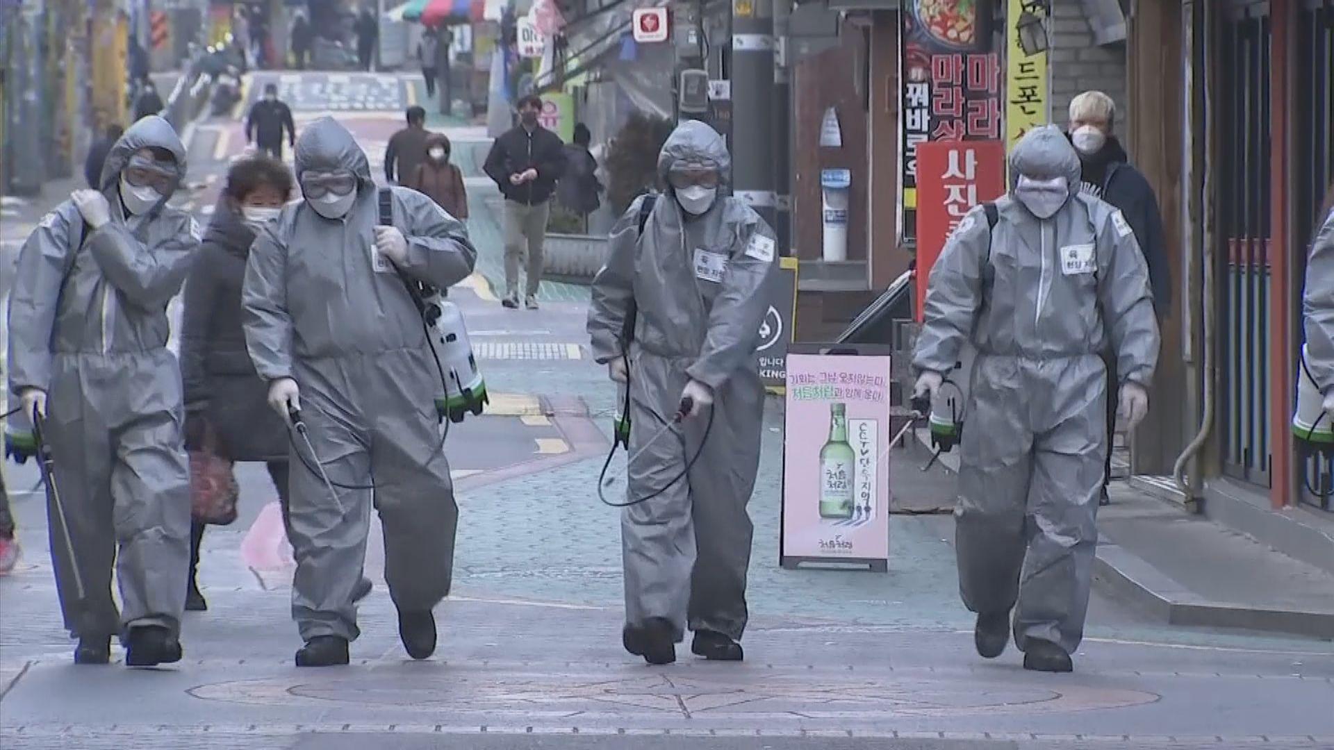 南韓增435宗確診個案 33人死亡