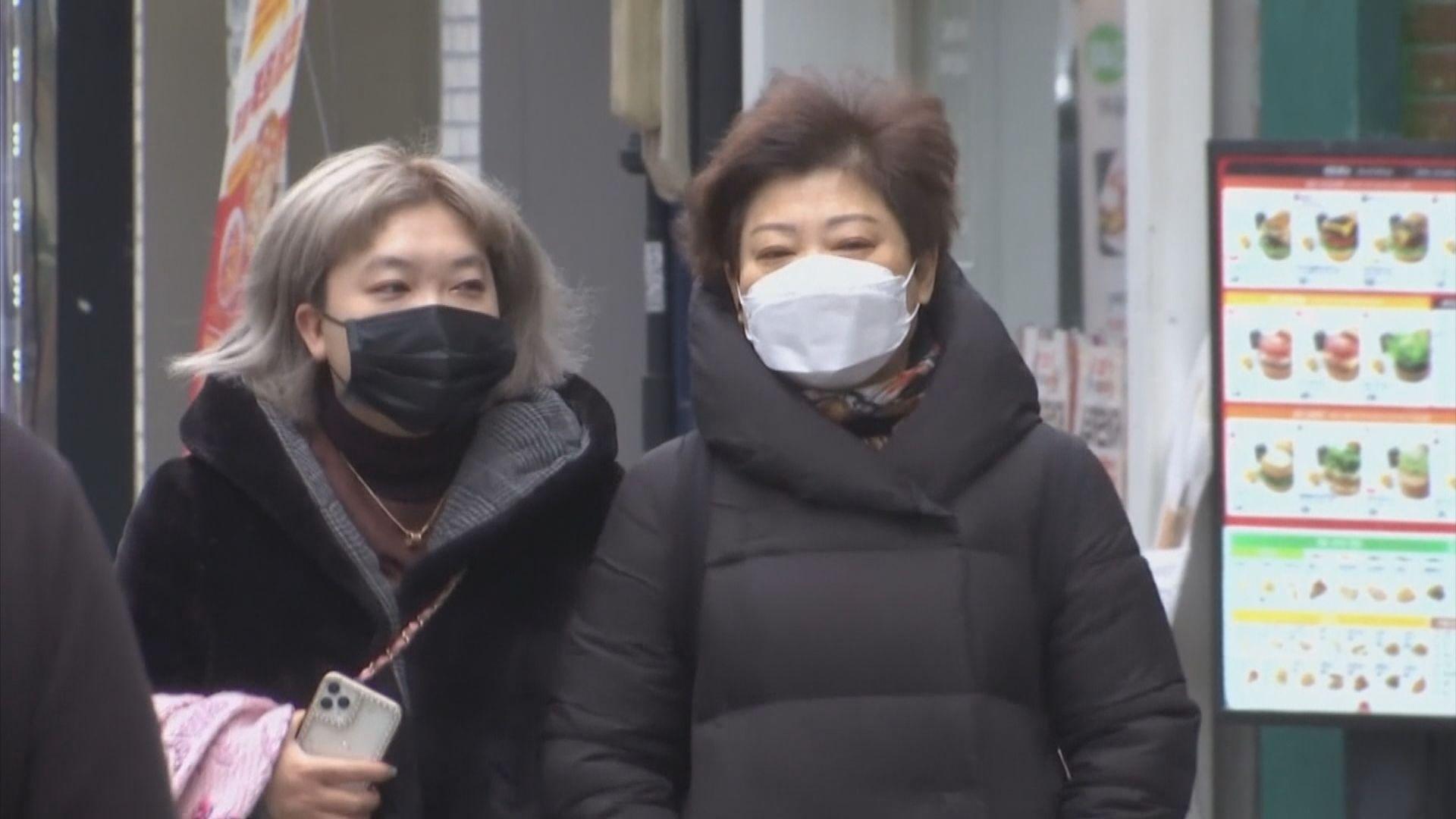 南韓新增確診新型冠狀病毒個案持續減少