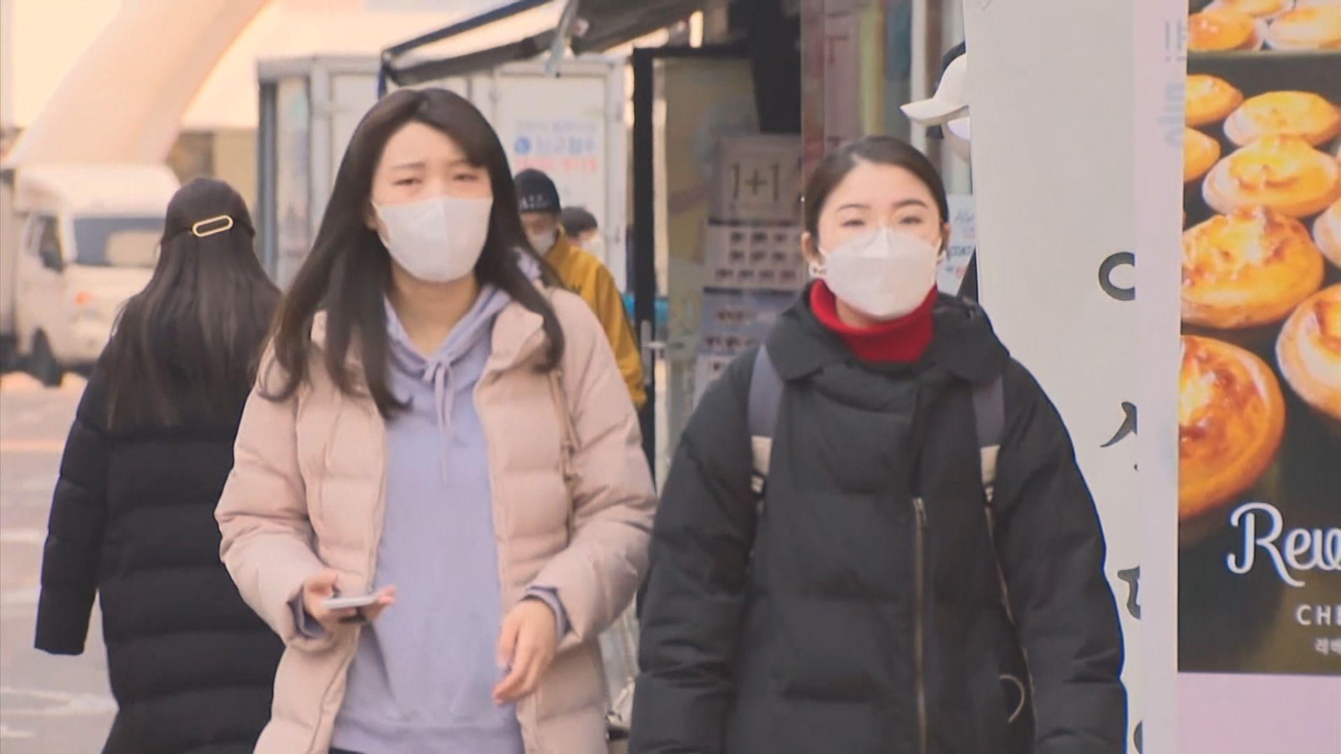 所有歐洲旅客入境南韓要接受特別檢疫