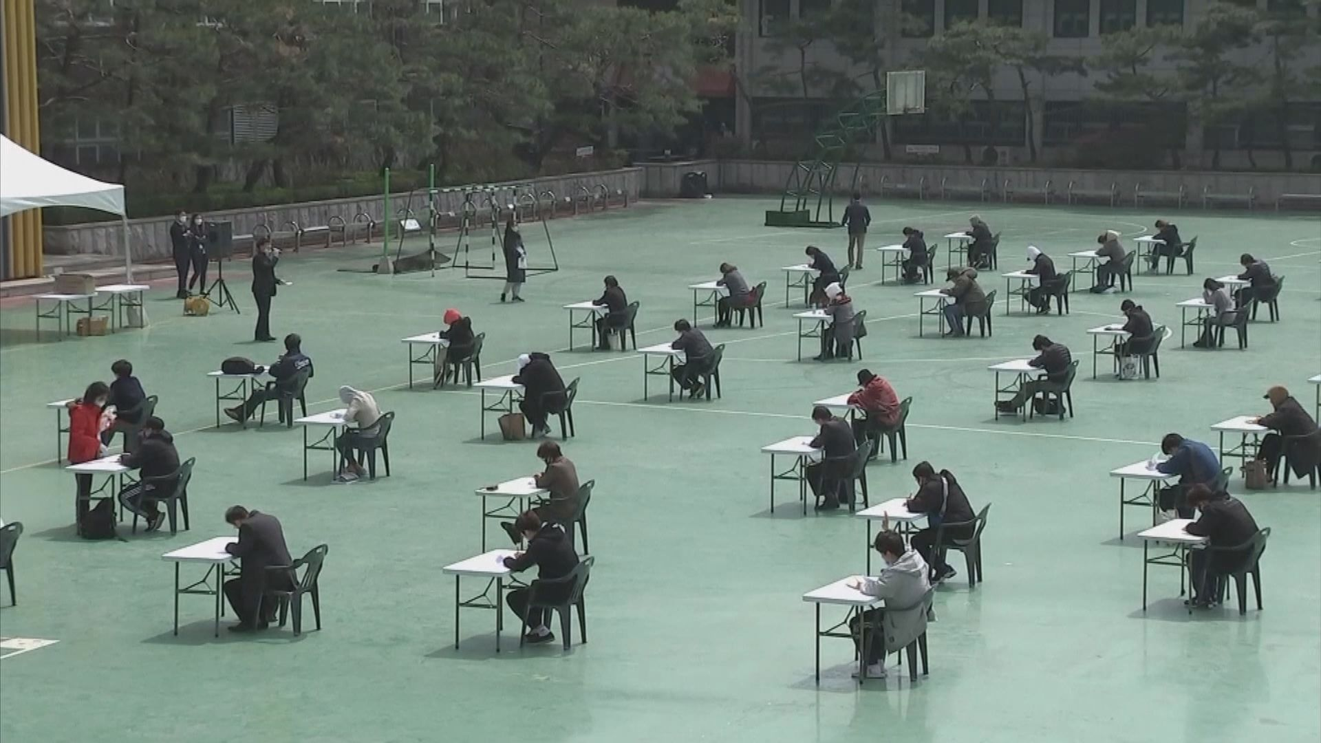 南韓再多十宗確診感染 保險從業員資格試移師室外舉行
