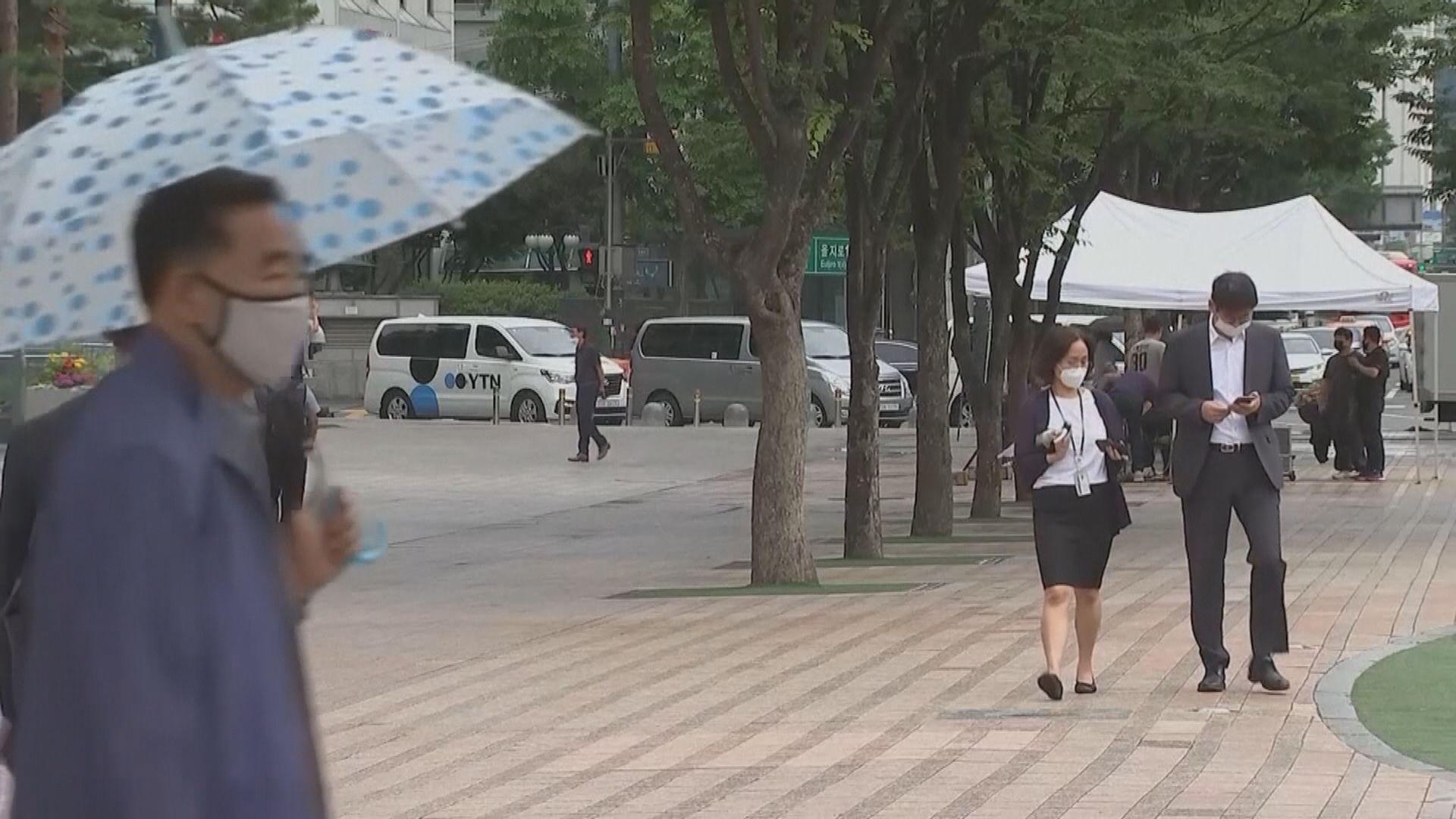 南韓單日新增近400宗確診 包括兩名外交部大樓職員