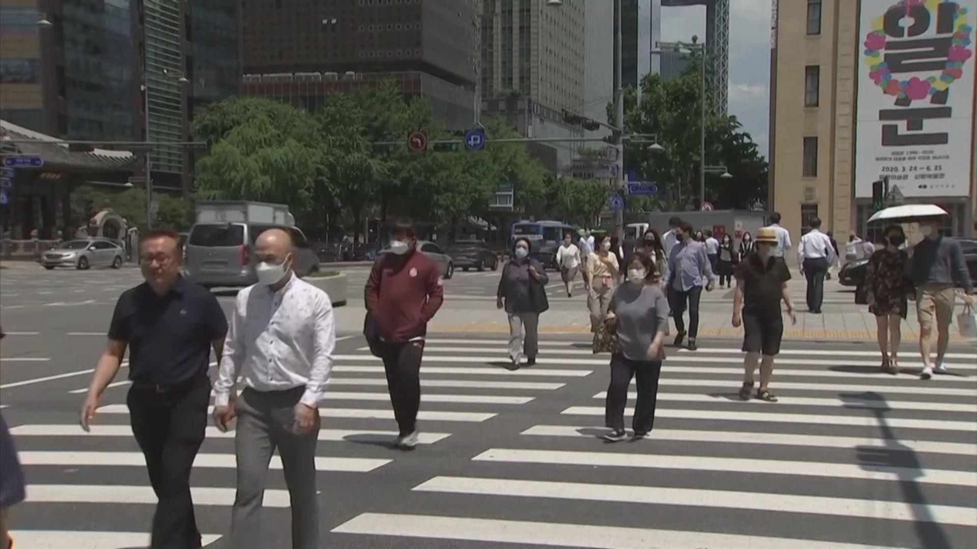 南韓單日新增近400宗確診 疫情正由首都圈擴散全國