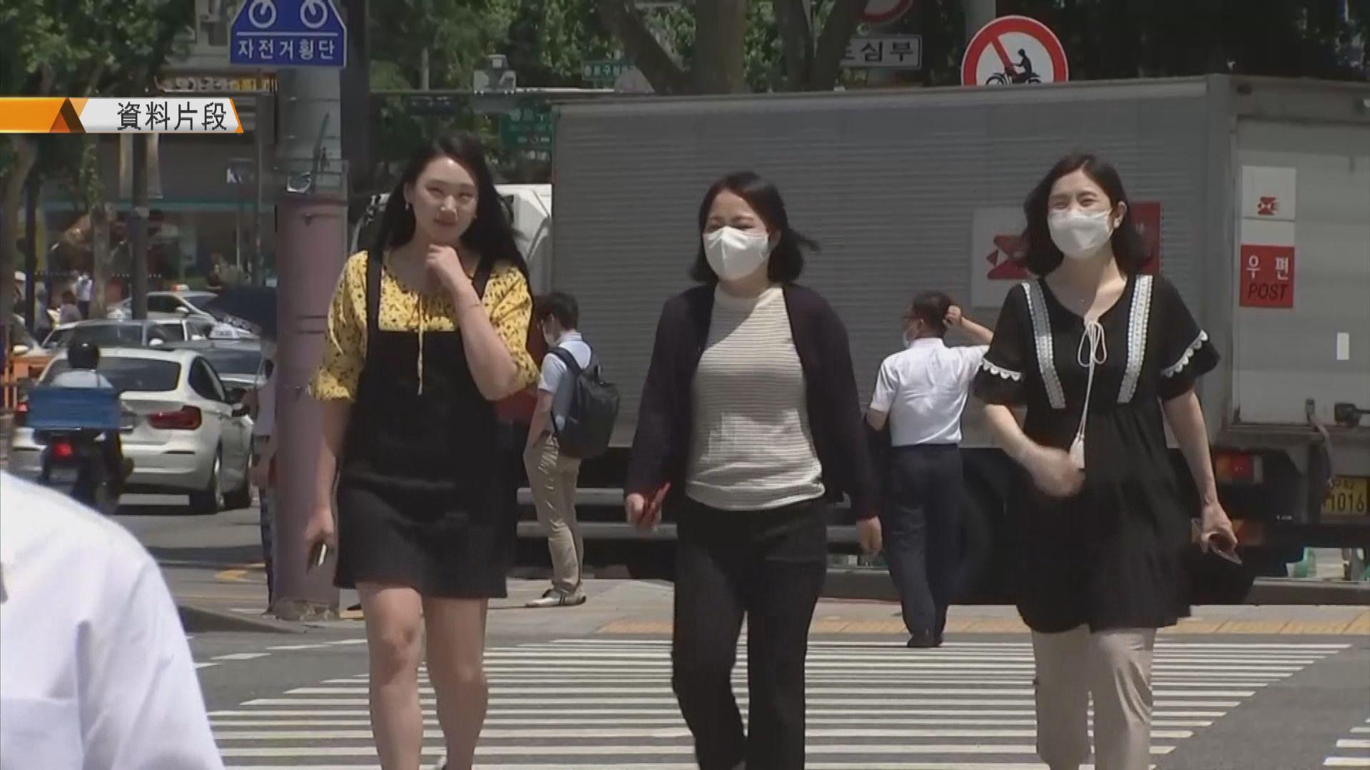 南韓新增266宗確診 首爾居民今起公眾地方須戴口罩