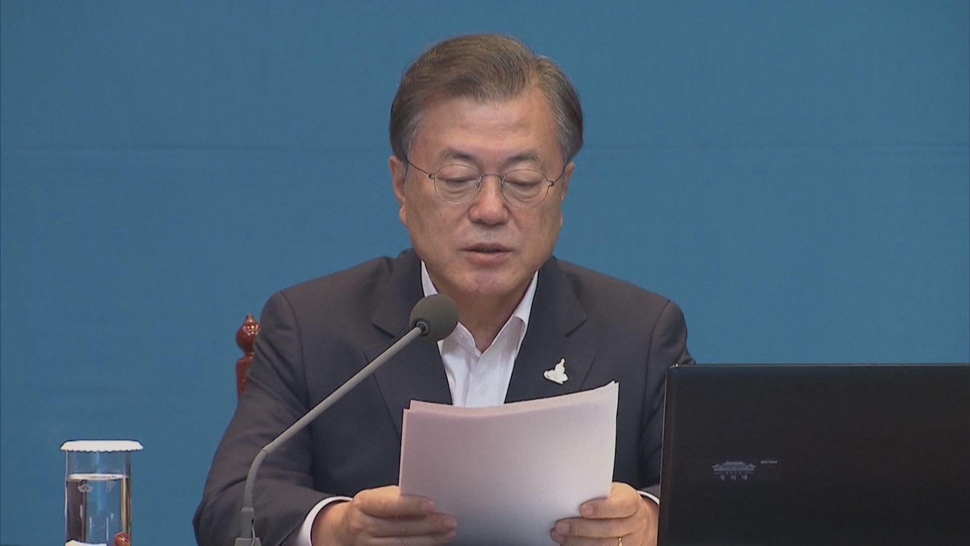 南韓總統文在寅:疫情比年初新天地教會群組爆發更嚴重