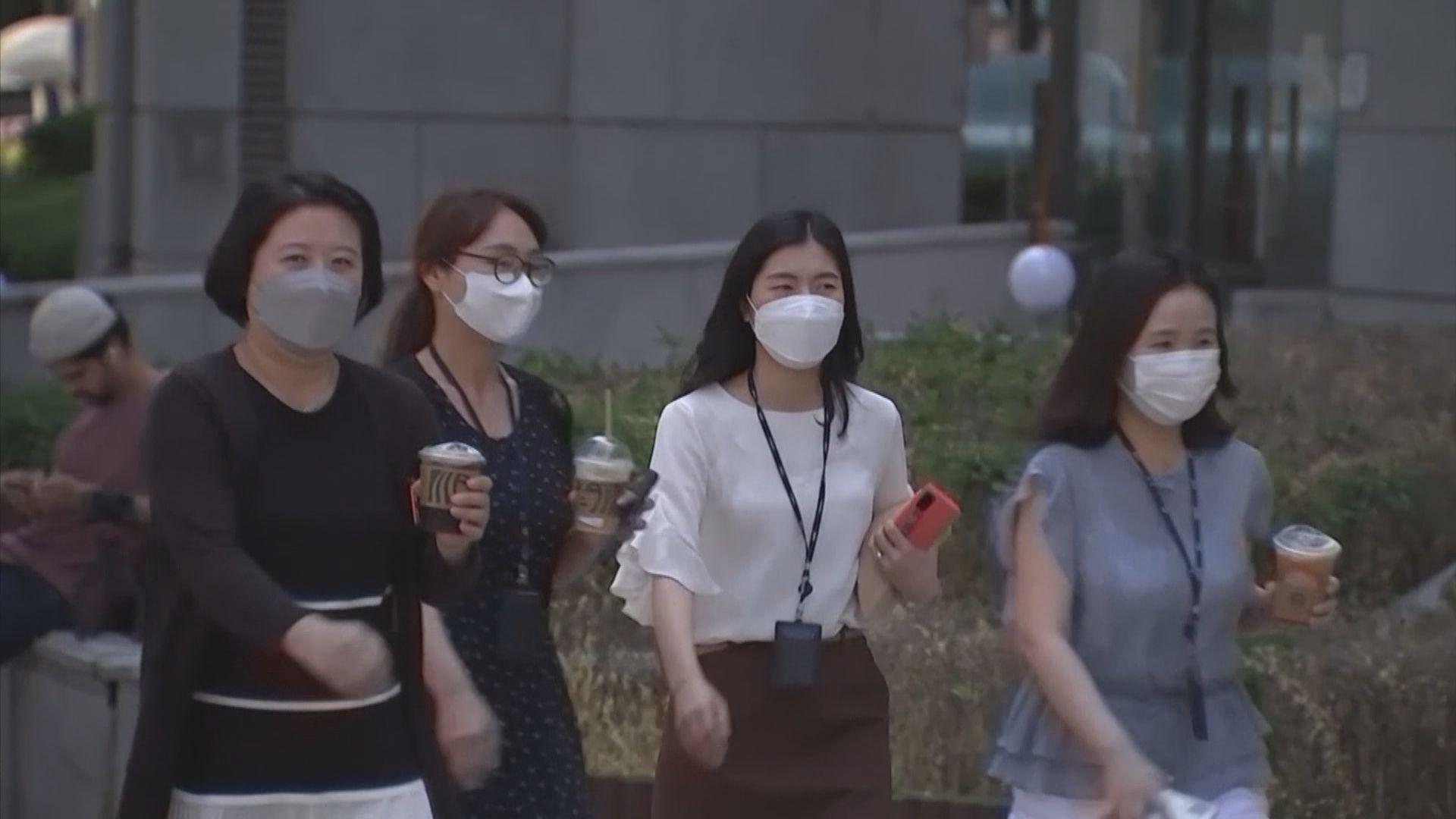 南韓單日新增136宗確診 指加強版防疫措施開始有效