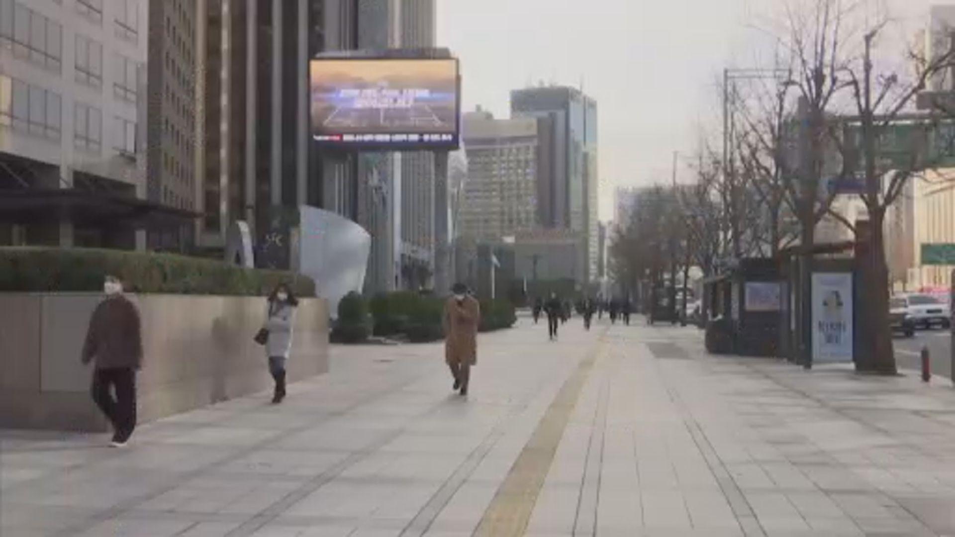 南韓增208宗新冠病毒確診 當局擬上調防疫響應級別