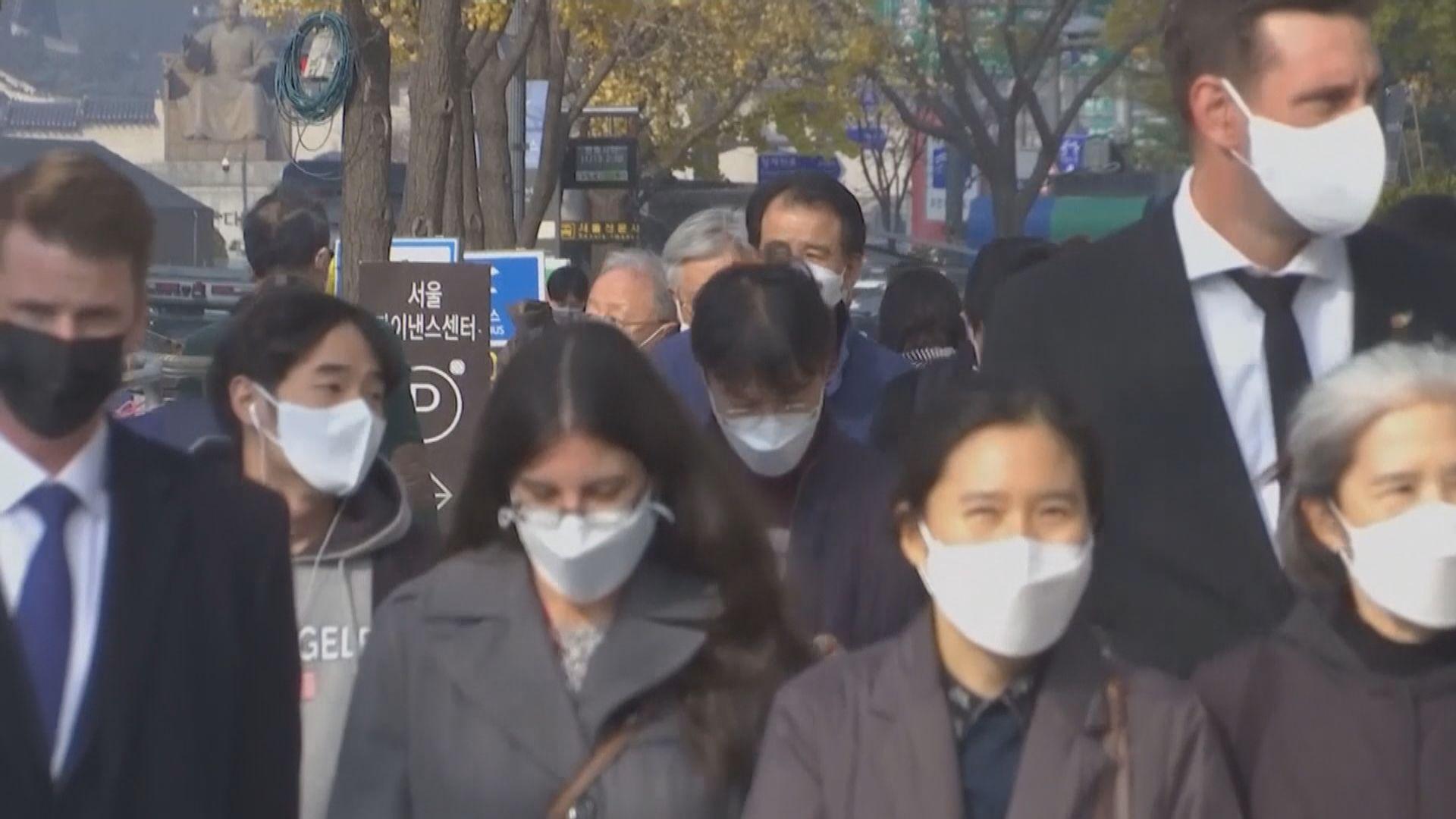 南韓放寬首都圈外公眾聚集場所營業限制