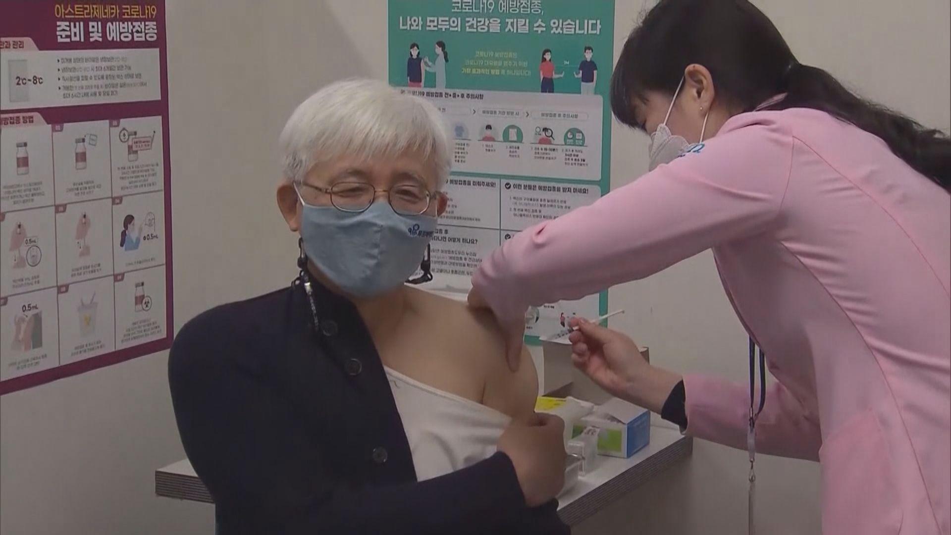 南韓增789宗疑接種新冠疫苗不良反應個案