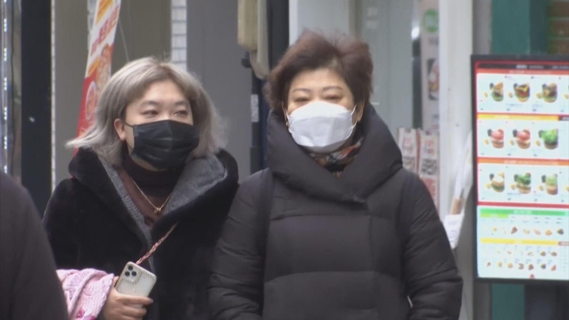 南韓新增七百宗新冠病例 一月初以來最多