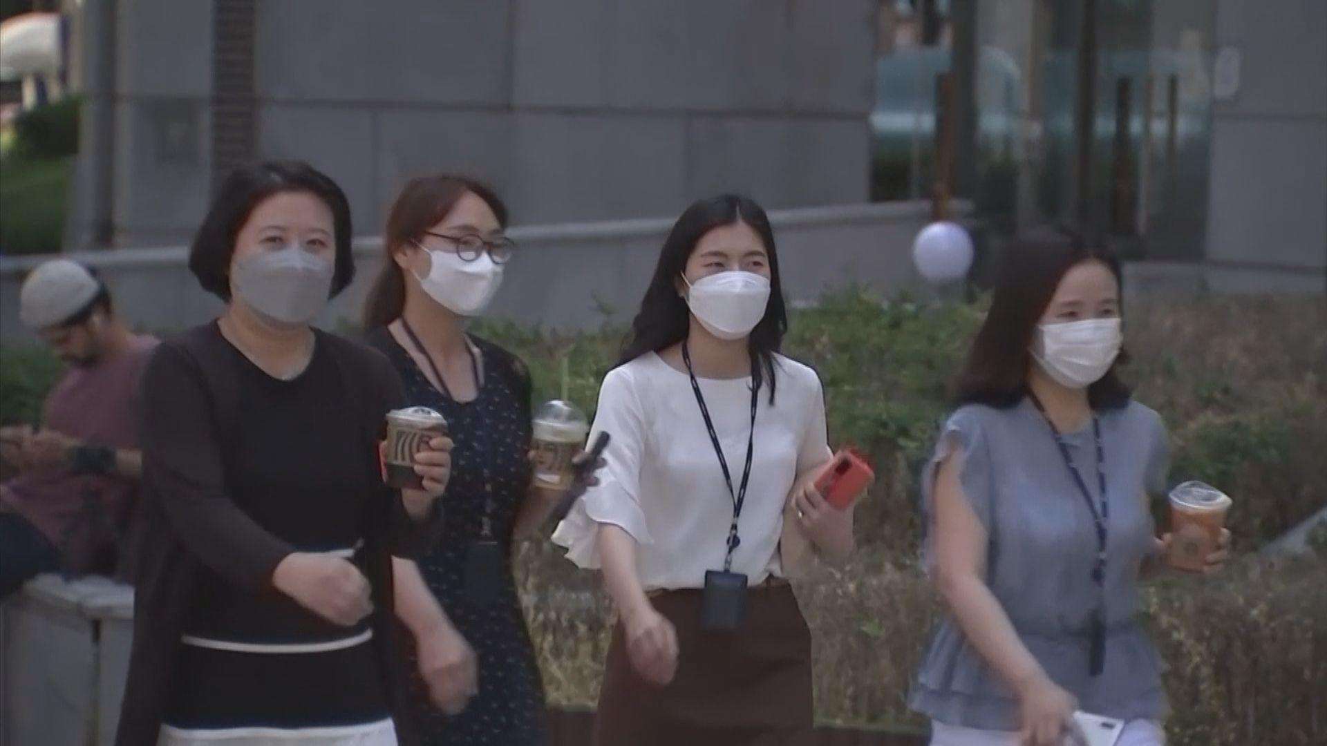 新冠疫情未降溫 南韓延長防疫響應措施三星期