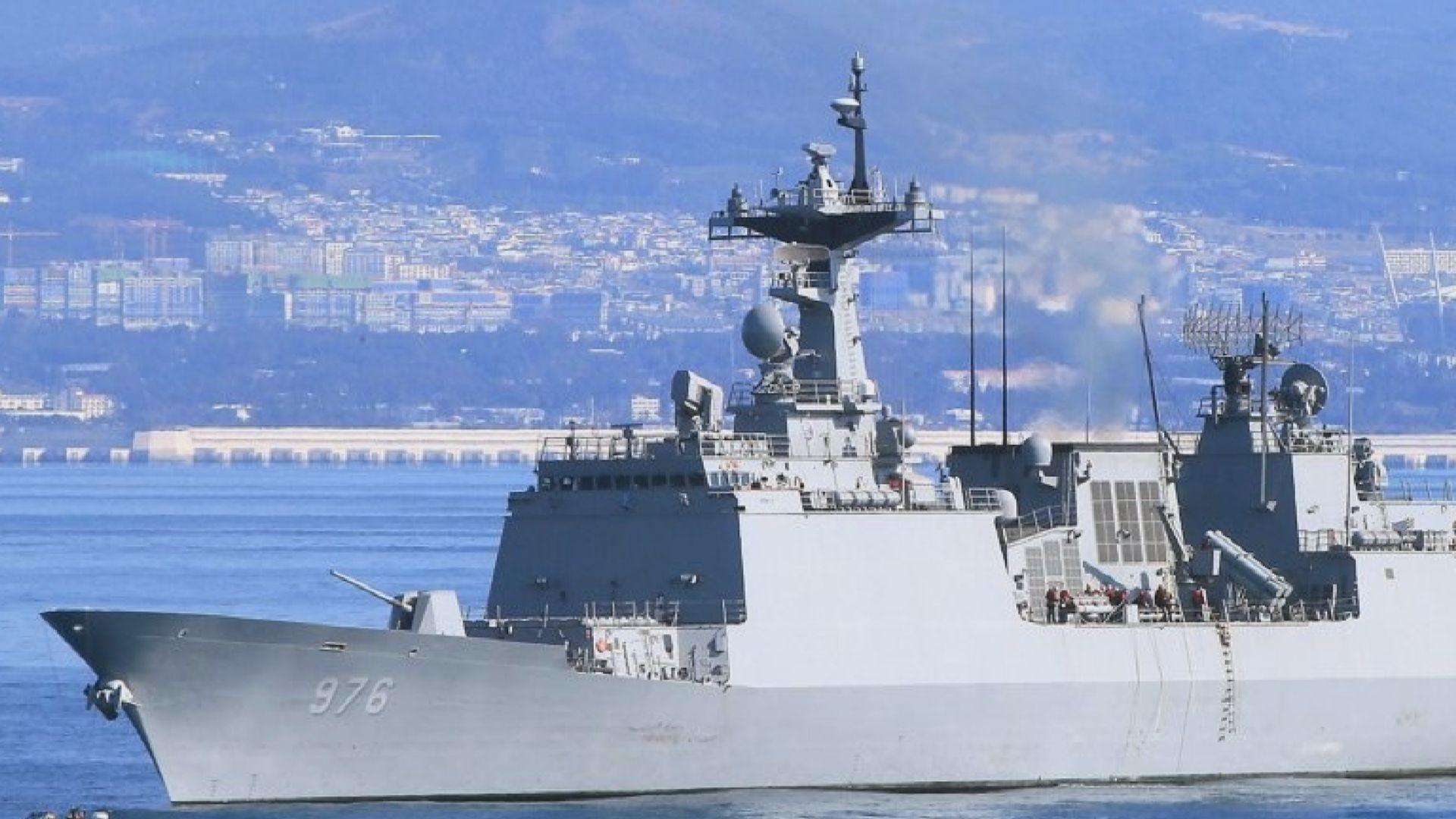 南韓文武大王號驅逐艦累計68人確診新冠病毒