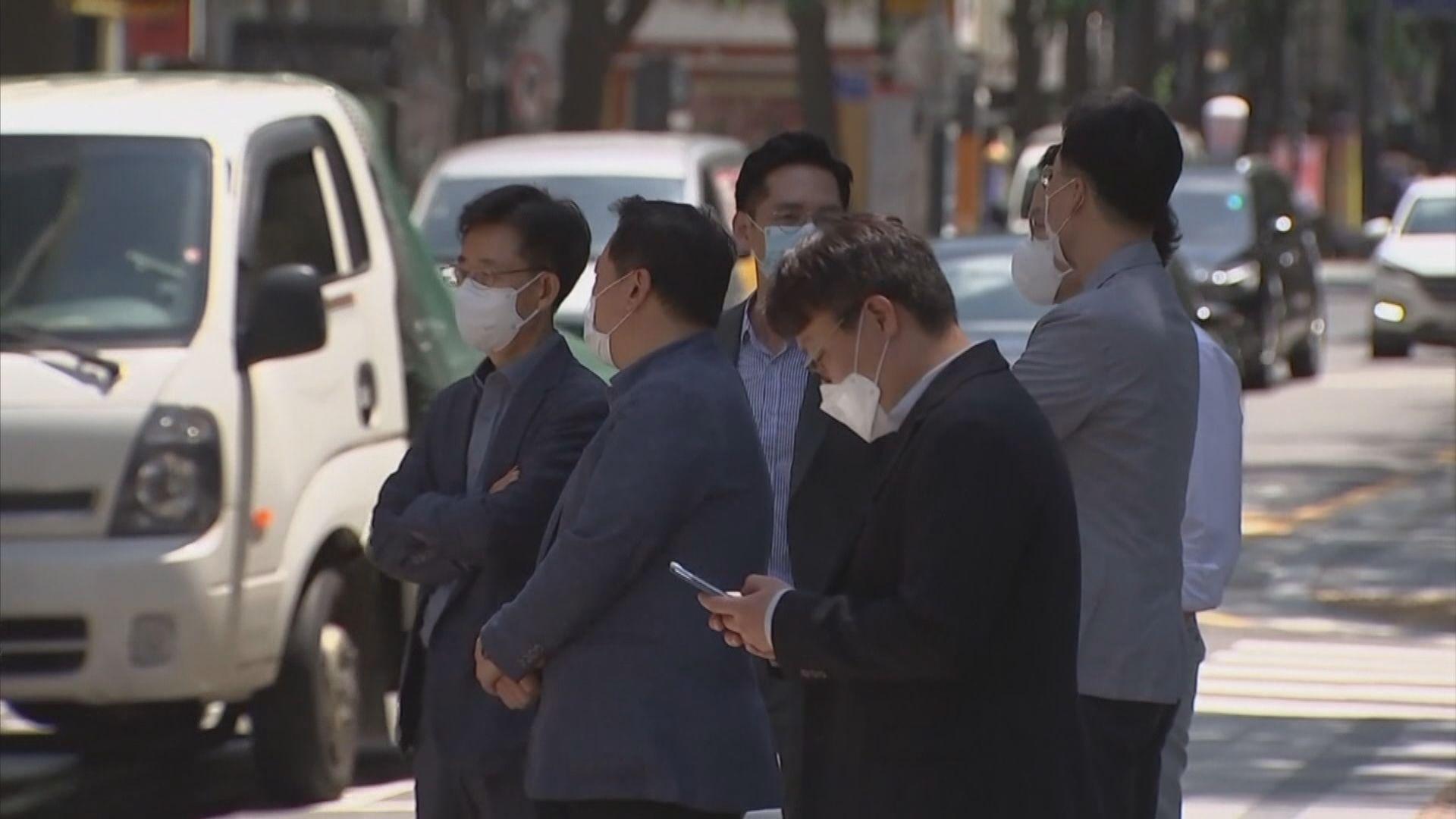 南韓單日新增確診個案首次逾1800宗