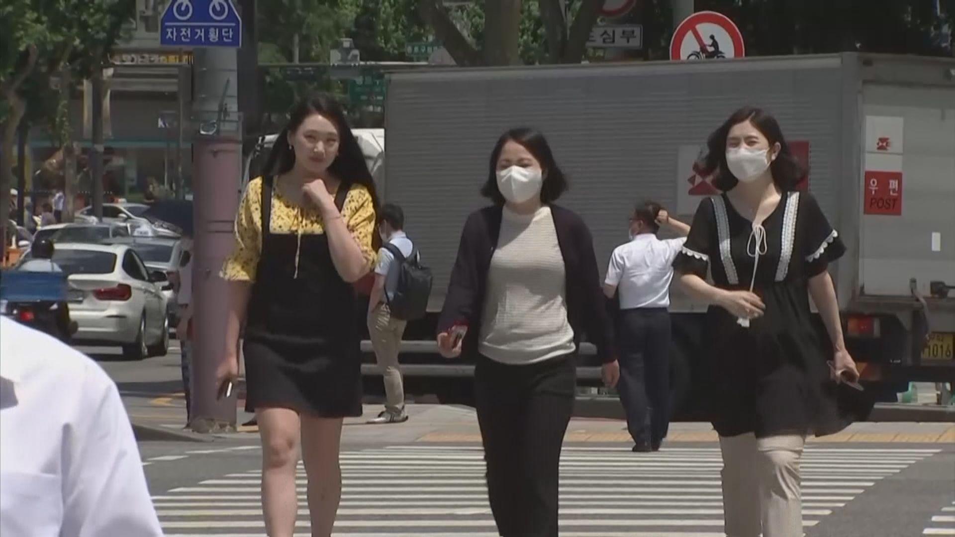 南韓周二起調升非首都圈防疫響應級別
