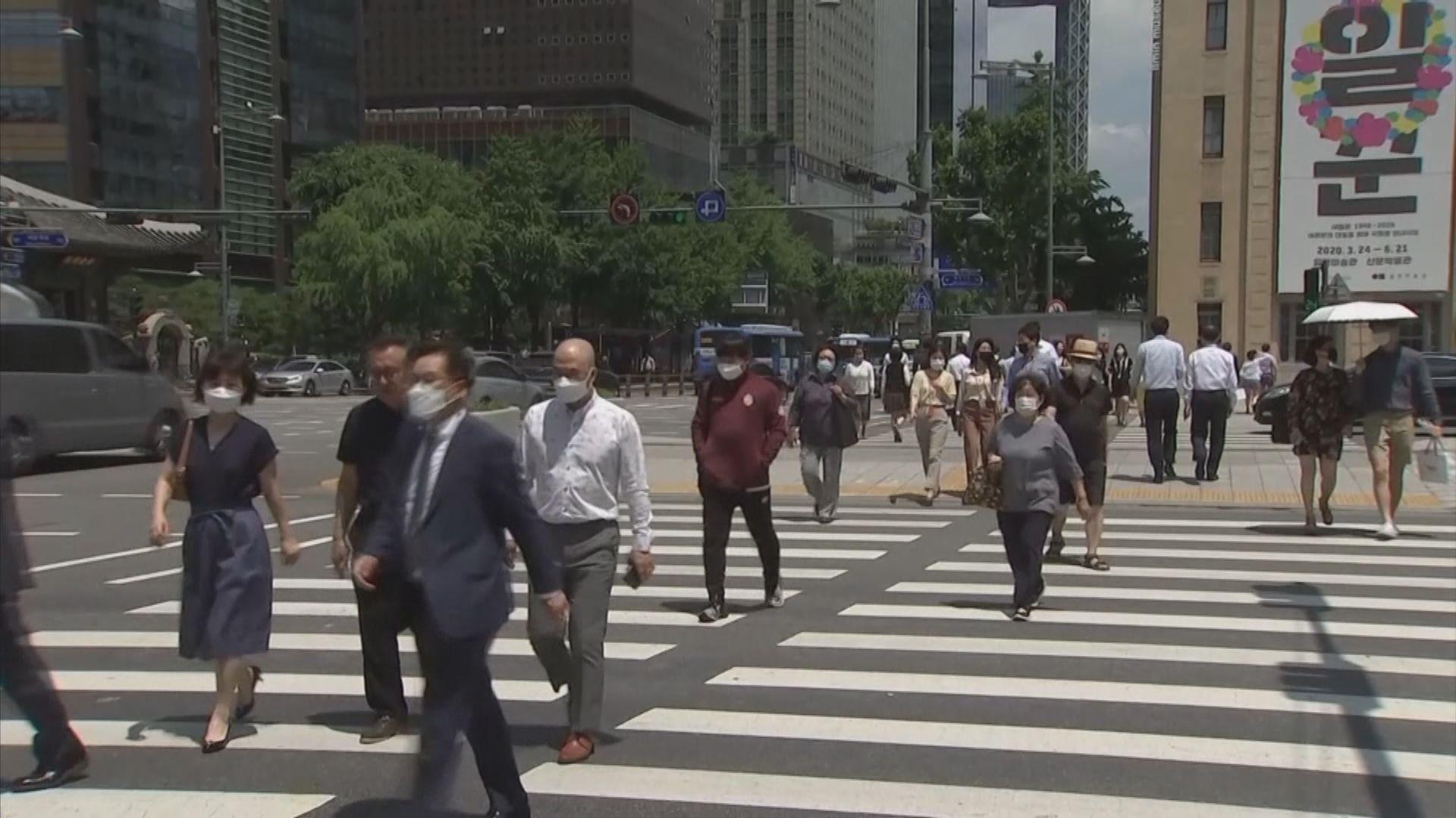 南韓連續二十日錄得新增過千宗新冠病毒確診