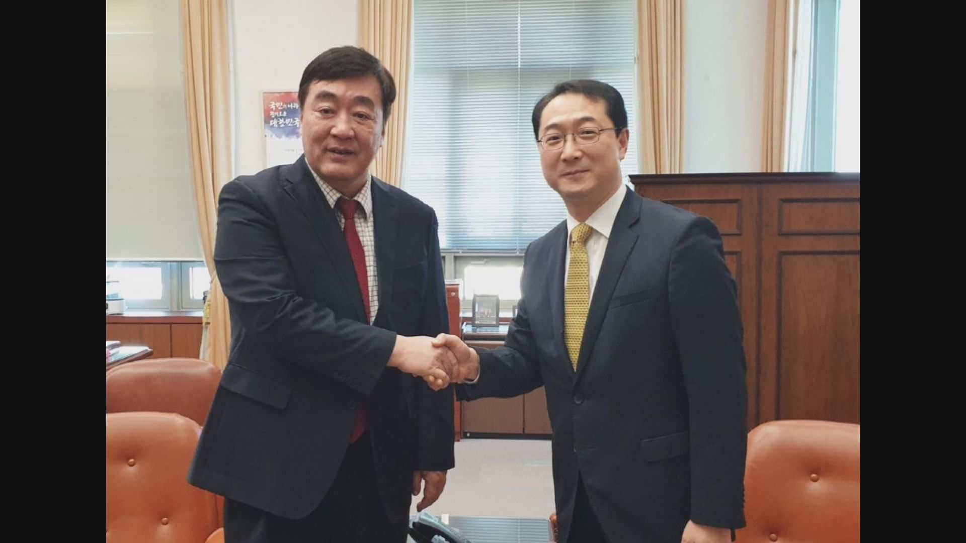 中國支持南韓抗疫 提供口罩等物資