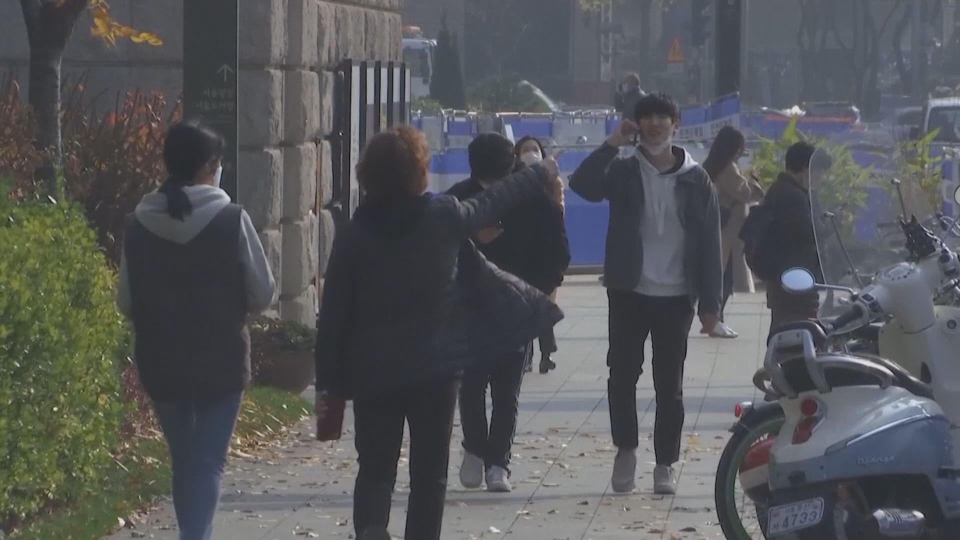 南韓增223宗確診 首都圈及江原道擬提升防疫級別