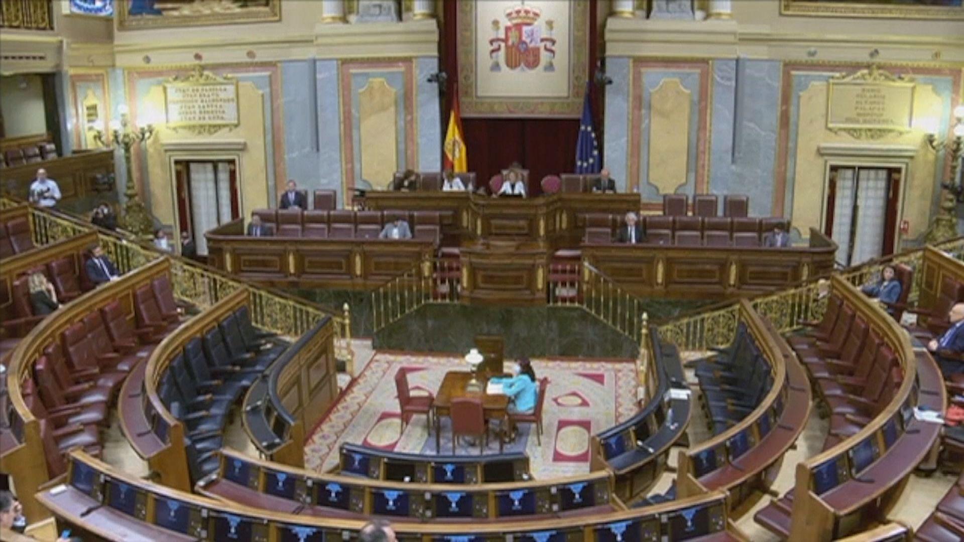 西班牙國會通過延長緊急狀態兩星期