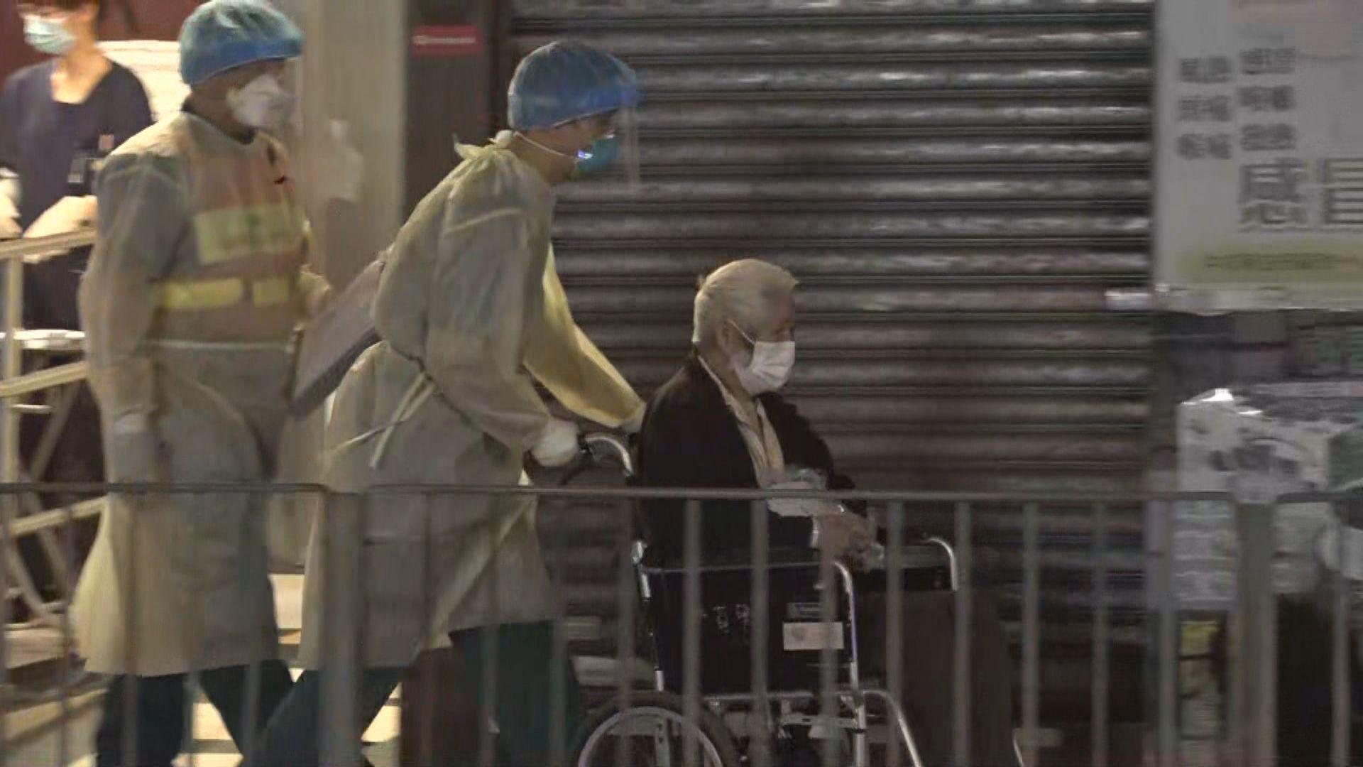 新蒲崗百樂護老院約50院友遷離往其他地方檢疫