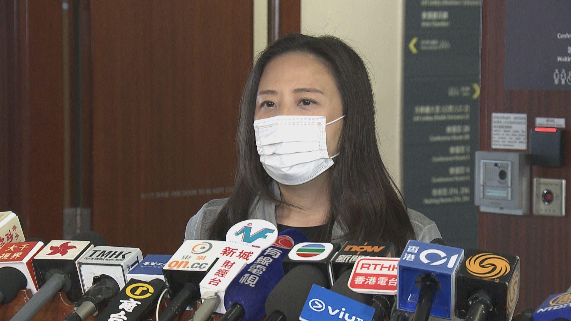 葛珮帆:有英國留學生疑染上新型肺炎 入境處已聯絡