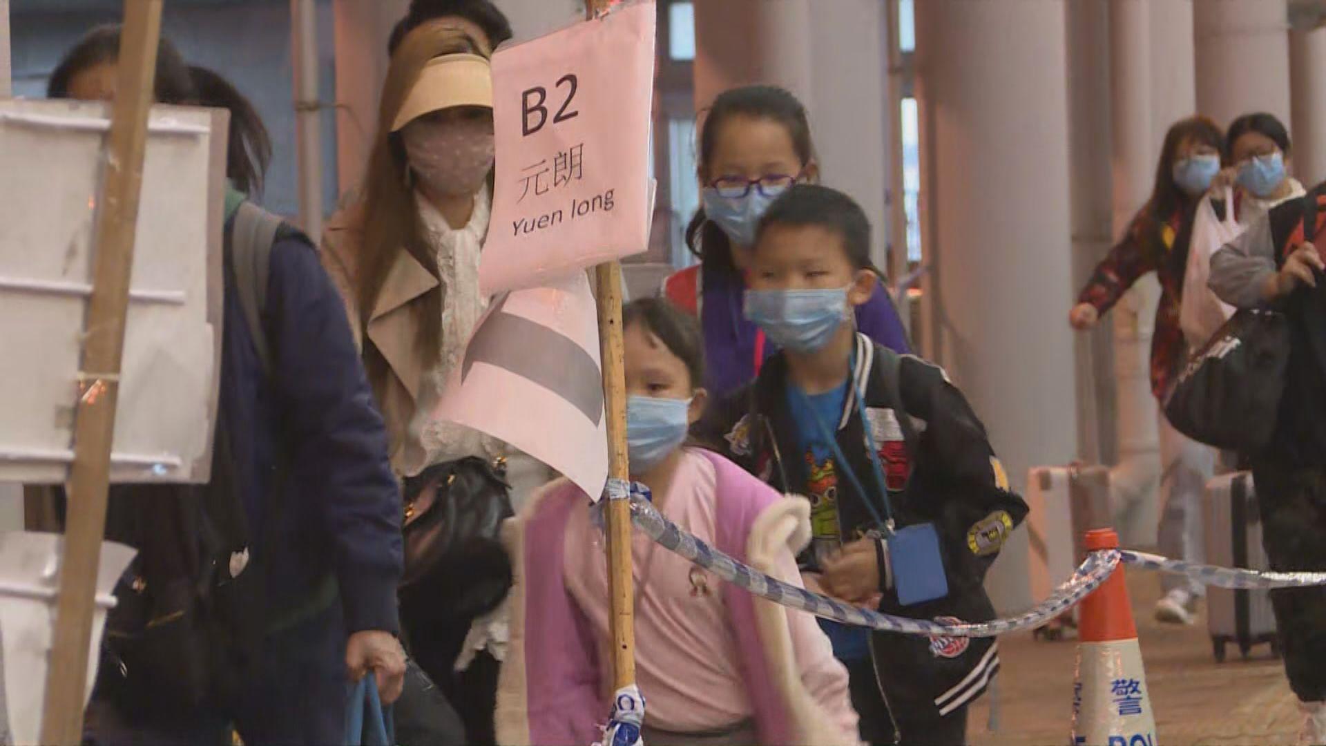 深圳灣返港人潮持續 有中港家庭指強制檢疫造成不便