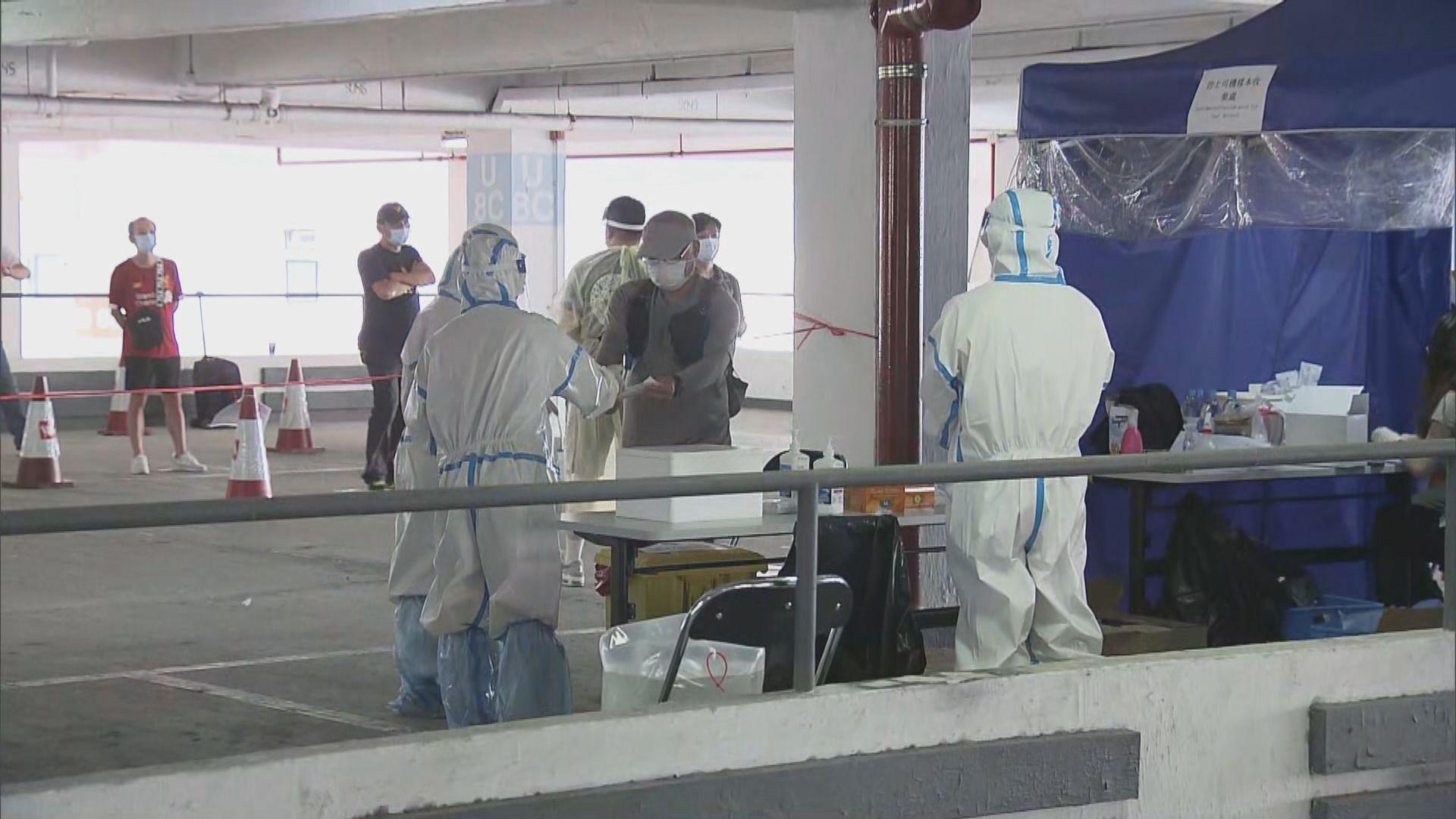 運輸署為的士司機進行病毒檢測