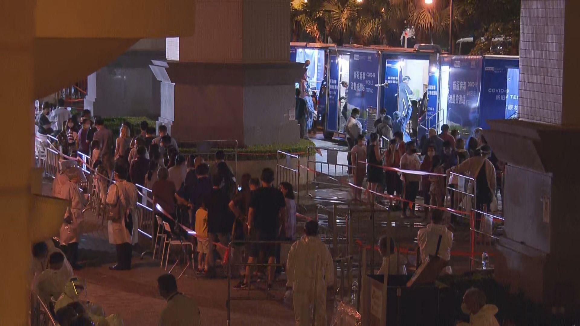 東涌映灣園11座所有居民須撤離往檢疫中心