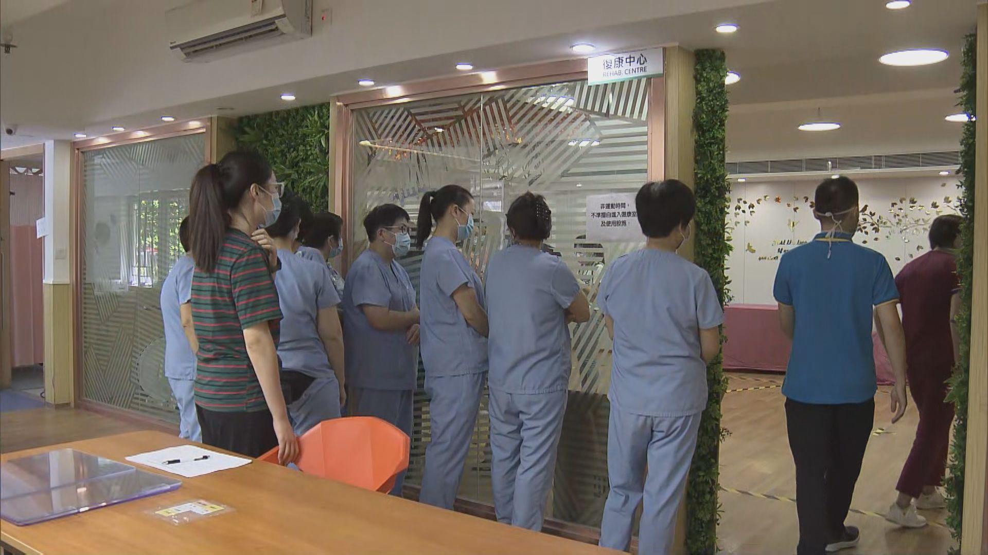 社署安排安老院舍於指定日子上門為員工做病毒檢測