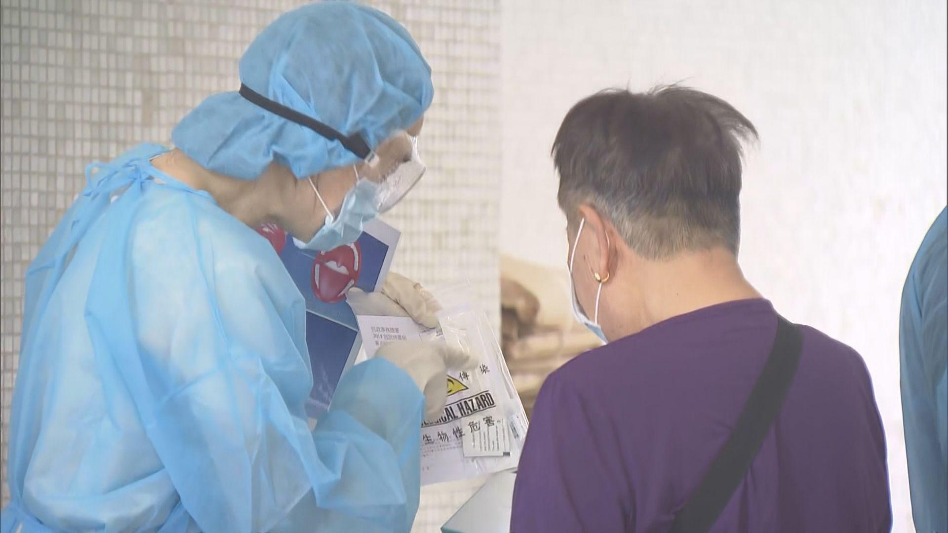 新冠病毒社區檢測計劃擴展 派咽拭子採樣套裝