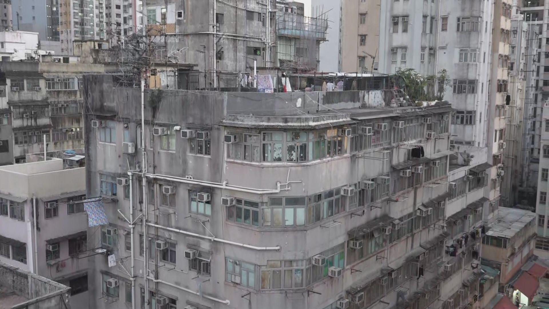 消息:政府要求油尖旺多幢樓宇強制檢測 涉數千居民