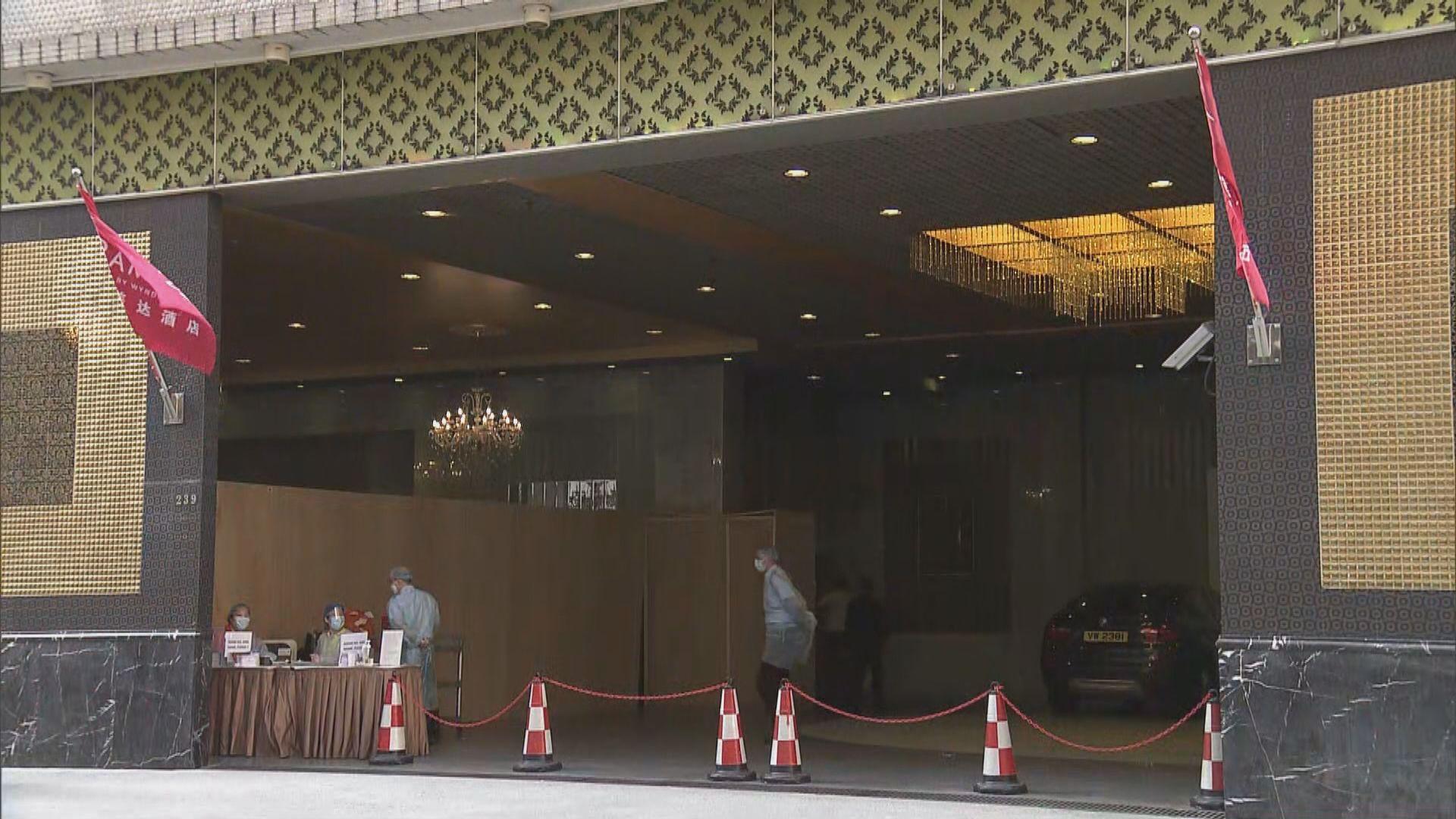 政府多項措施加強指定檢疫酒店感染控制