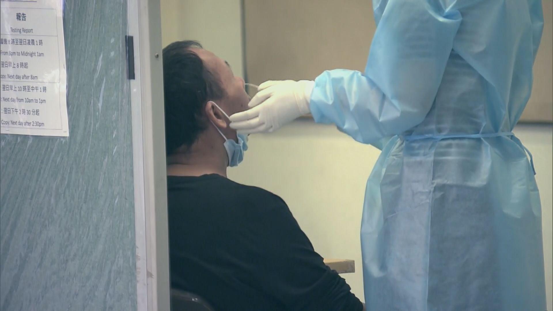 政府加密高風險高暴露群組病毒檢測至三天一檢