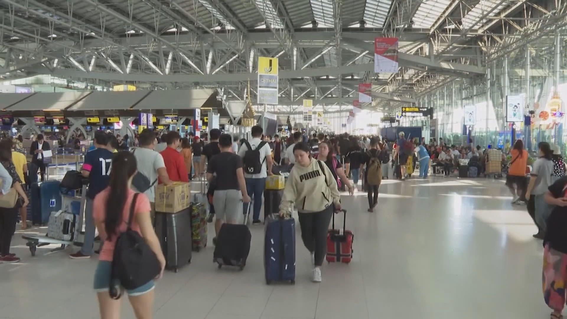 泰國周三起准中港等地商務旅客入境