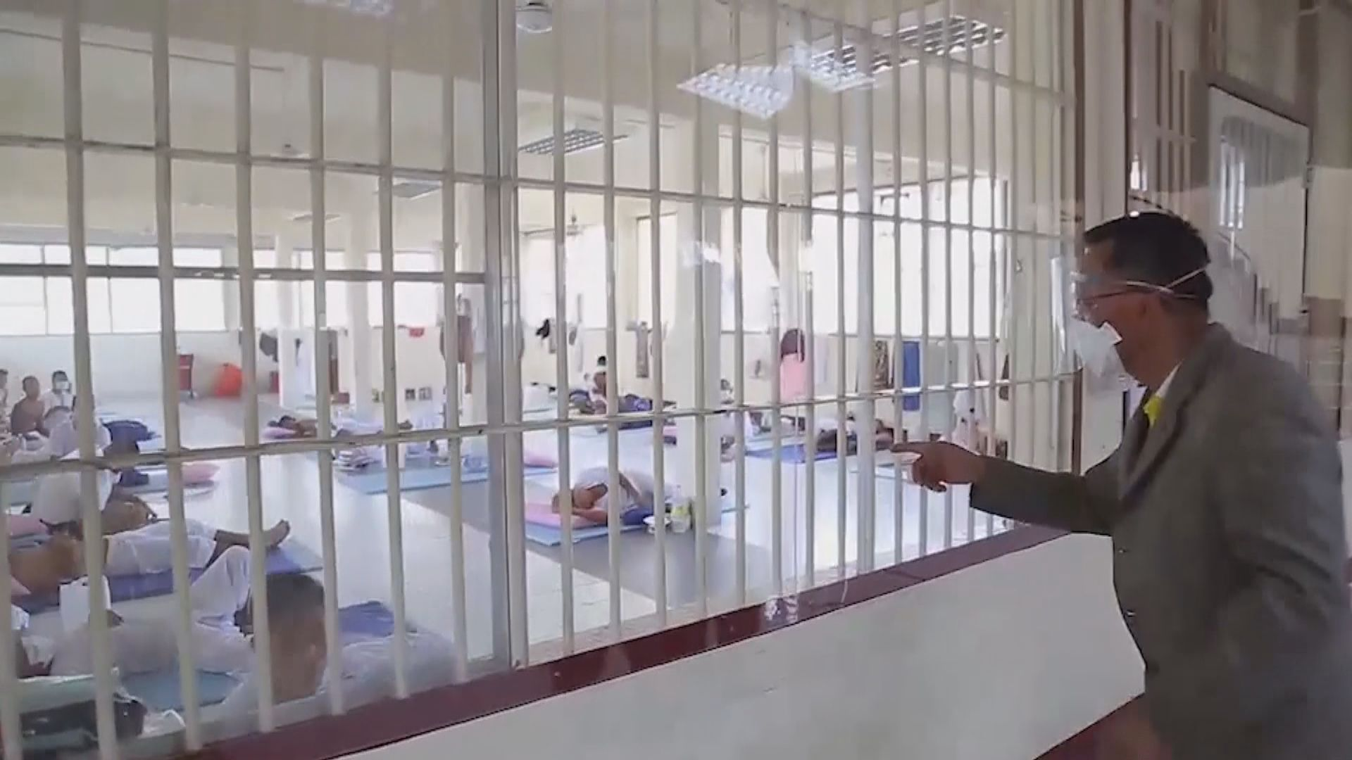 泰國擬提早釋放囚犯 以遏止監獄新冠疫情