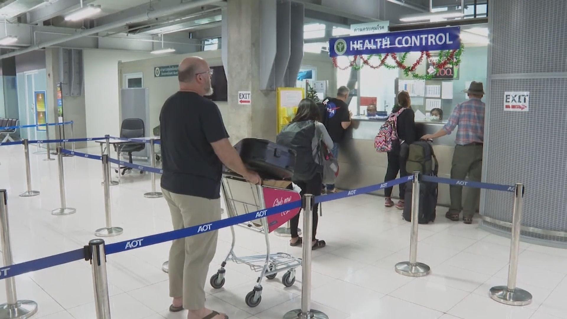 泰國延長入境航班禁令一個月