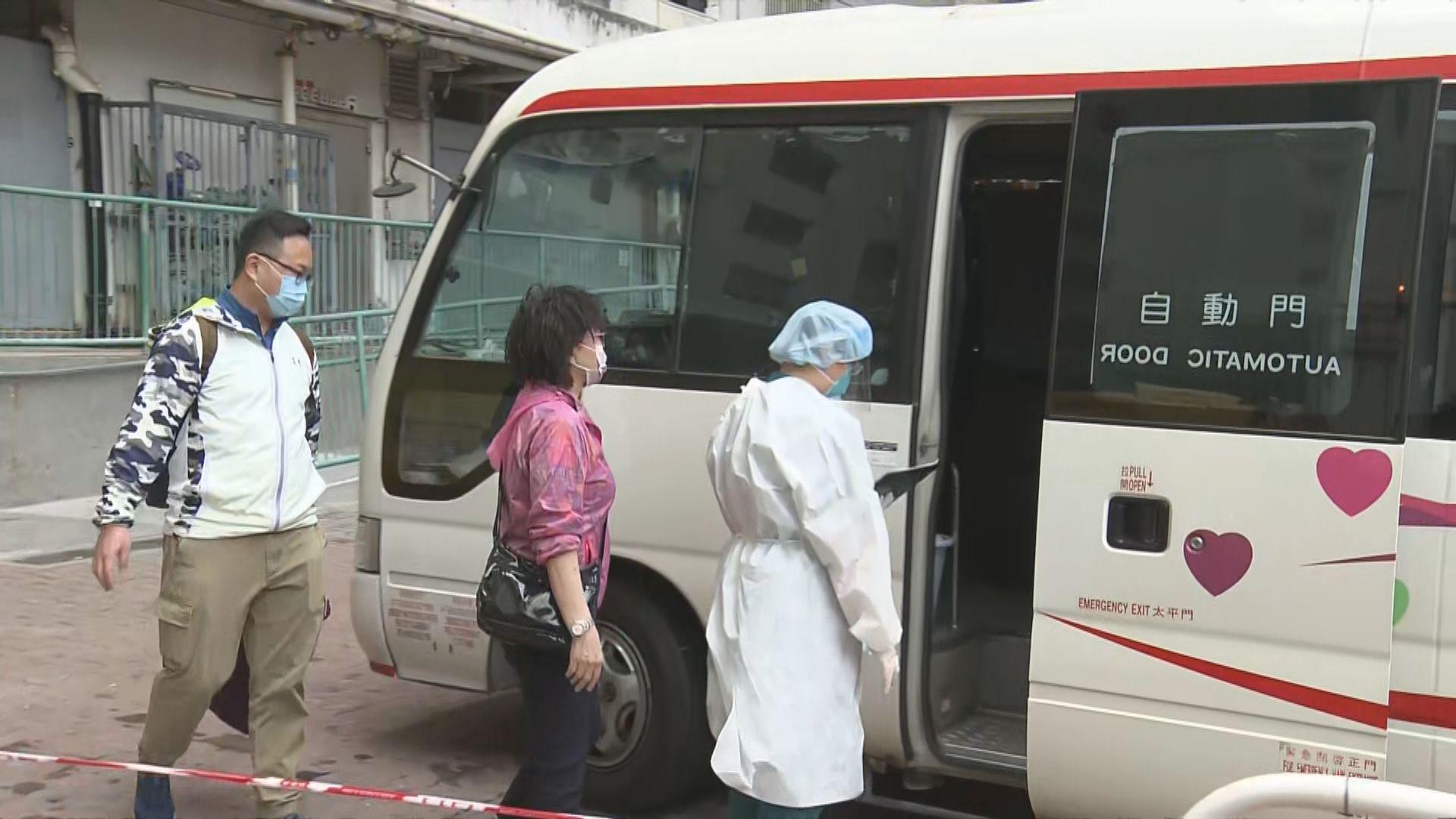 屯門愛暉樓再有確診 二座八樓居民撤離檢疫