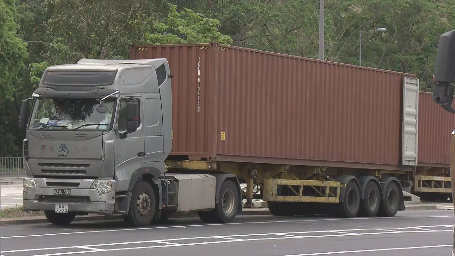 貨運業界指內地將加強對港跨境司機檢疫 憂切斷供應鏈