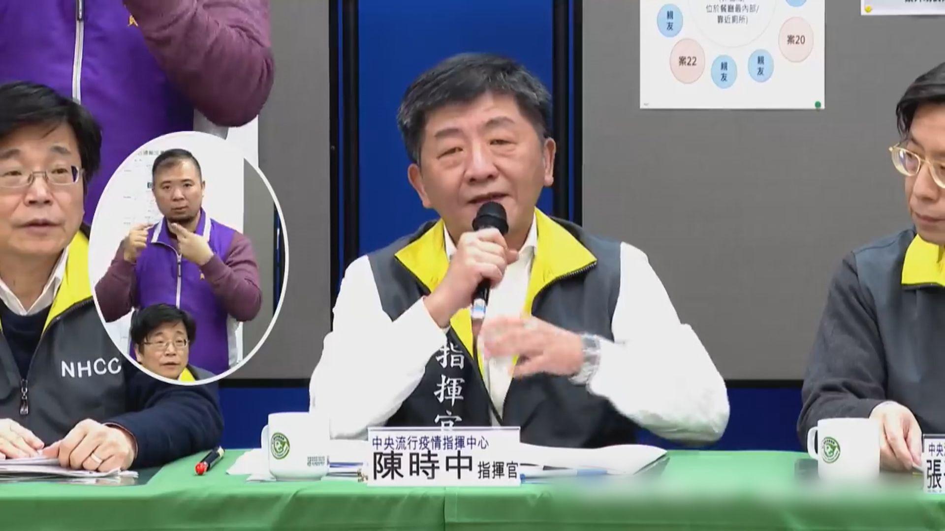 台灣首名新型冠狀病毒死者三親人先後確診